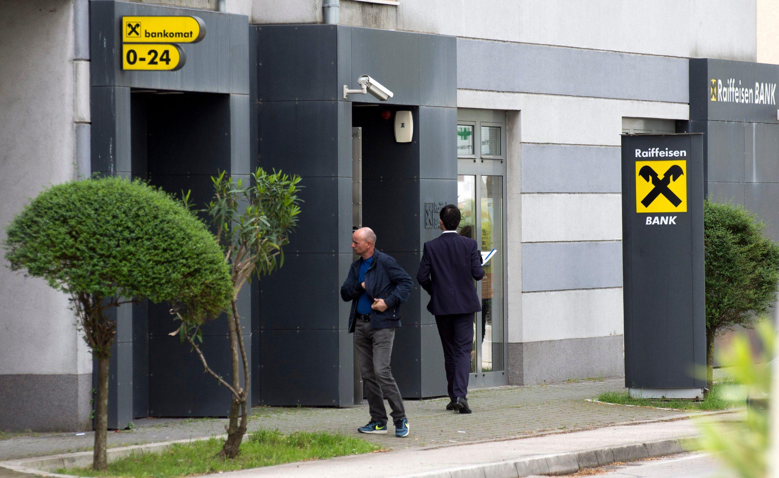 Raiffaisen banka u Metkoviću