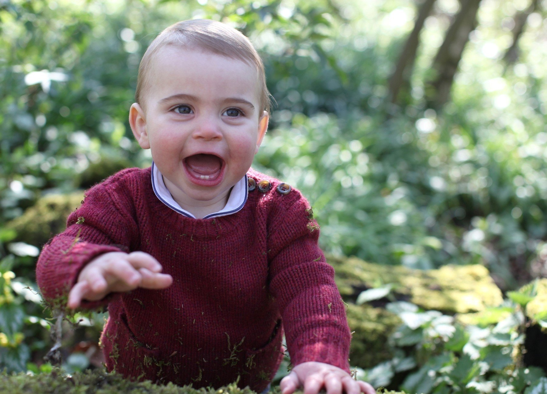 BGUK_1556688 - ** RIGHTS: WORLDWIDE EXCEPT IN FRANCE, UNITED KINGDOM ** Sandringham, UNITED KINGDOM  - Pictures of Prince Louis taken by his Mother, the Duchess of Cambridge, at their home in Norfolk earlier this month, to mark his first birthday today at Anmer Hall, Sandringham, Norfolk, UK.  Pictured: Prince Louis    *UK Clients - Pictures Containing Children Please Pixelate Face Prior To Publication*, Image: 427542987, License: Rights-managed, Restrictions: , Model Release: no, Credit line: Profimedia, Backgrid UK