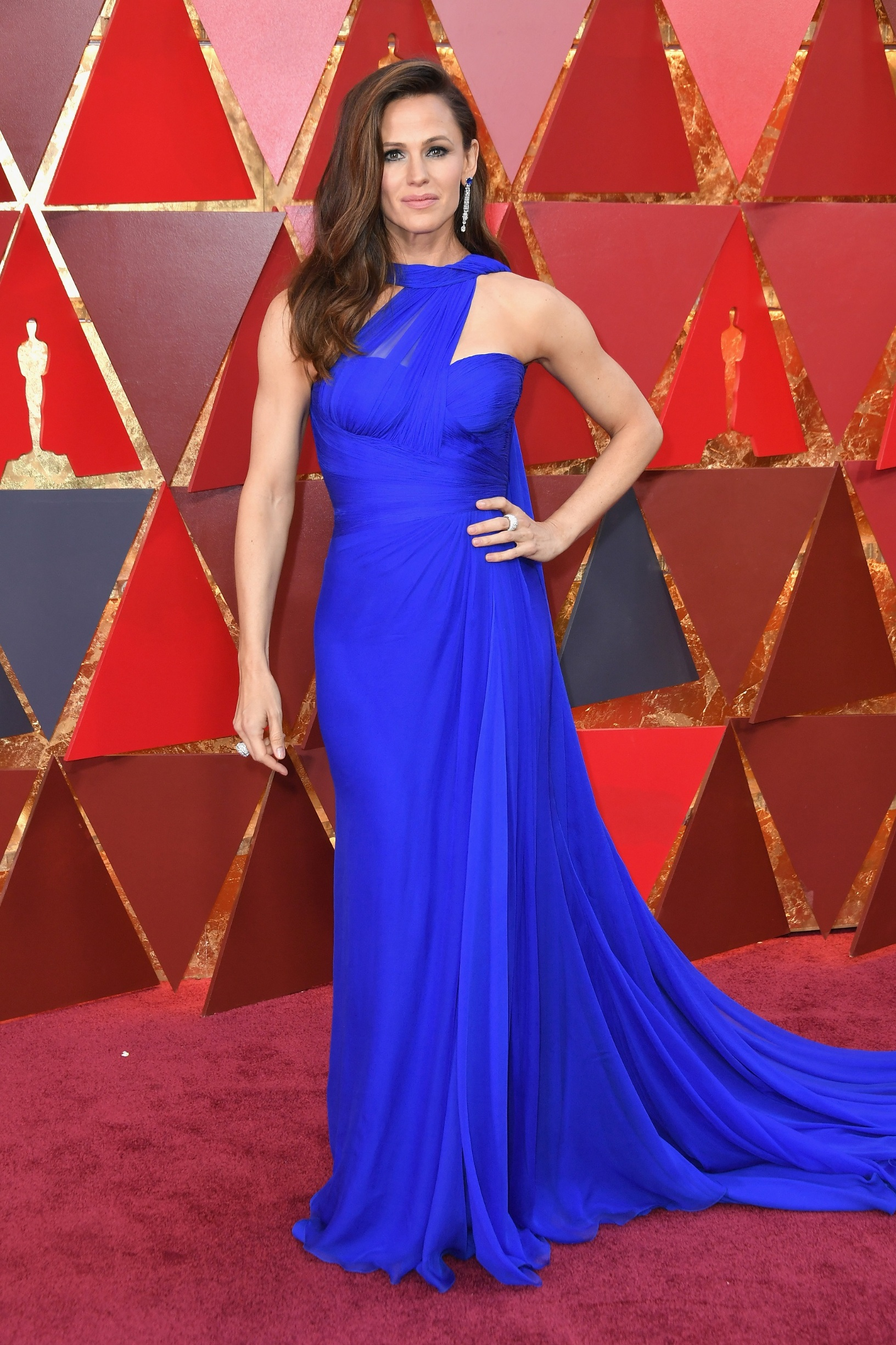 HOLLYWOOD, CA - MARCH 04:  Jennifer Garner attends the 90th Annual Academy Awards at Hollywood & Highland Center on March 4, 2018 in Hollywood, California.  (Photo by Neilson Barnard/Getty Images)