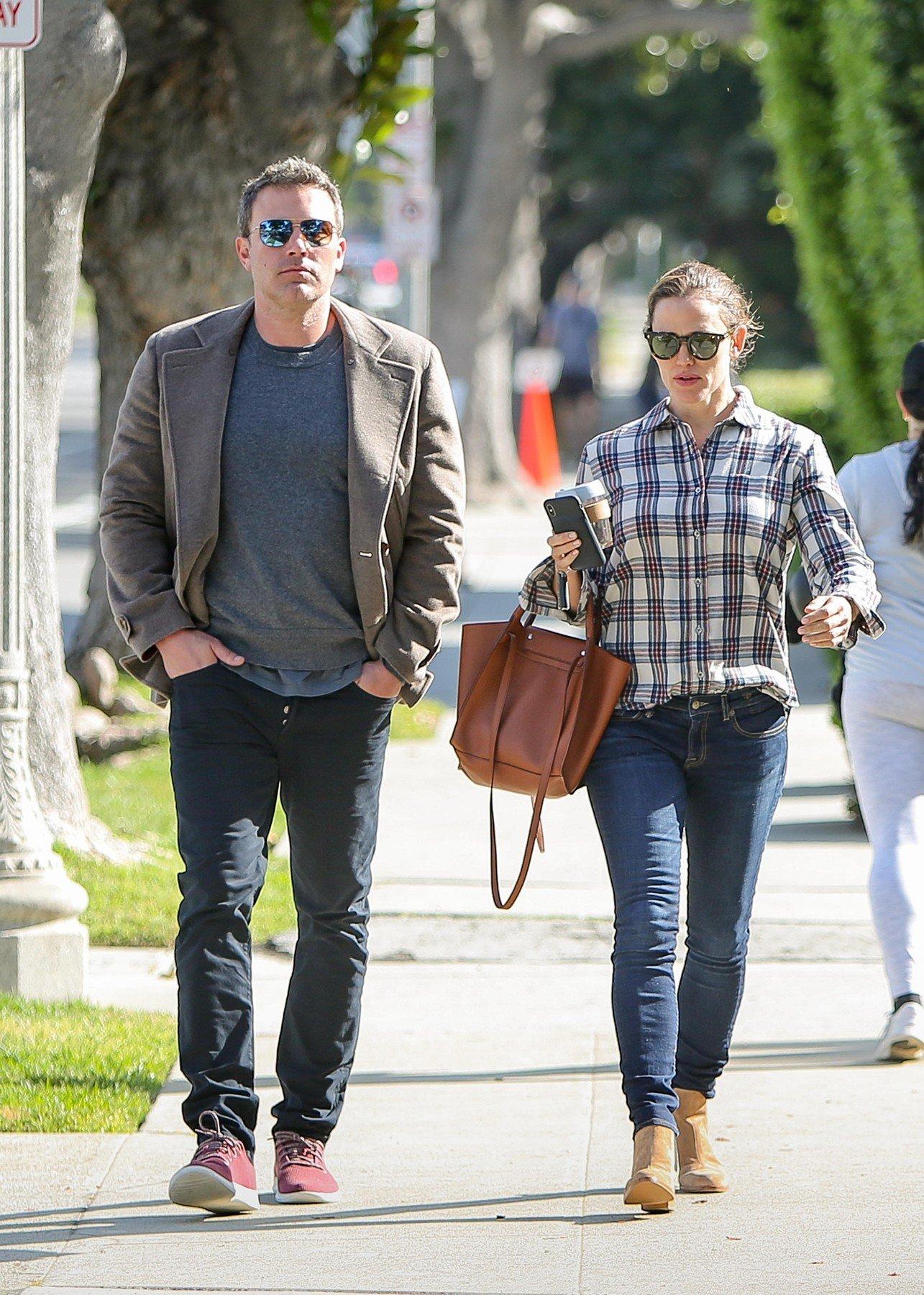 Ben Affleck and Jennifer Garner are seen in Los Angeles, California. 09 Apr 2019, Image: 425439926, License: Rights-managed, Restrictions: World Rights, Model Release: no, Credit line: Profimedia, Mega Agency