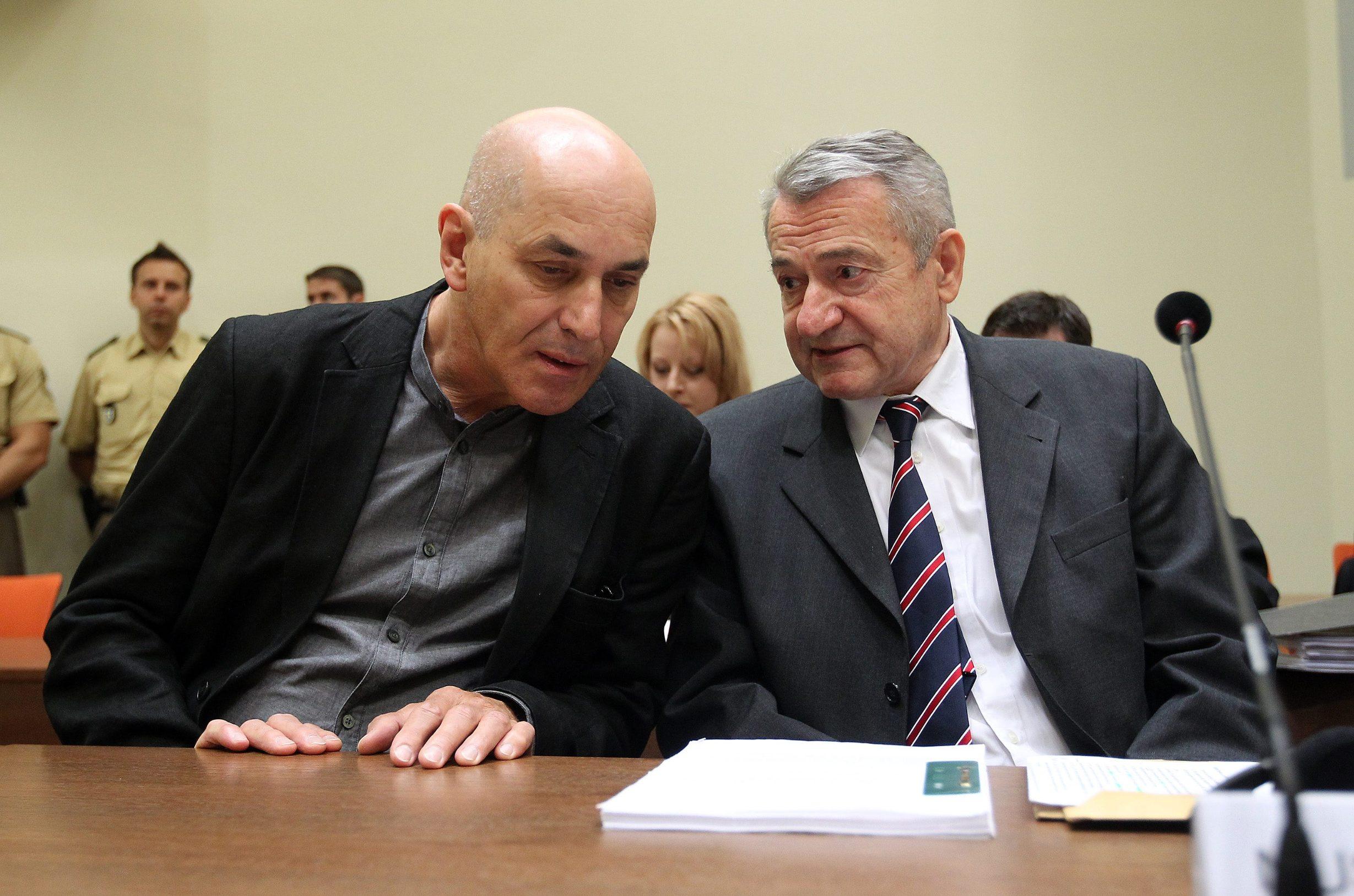 Zdravko Mustač s odvjetnikom
