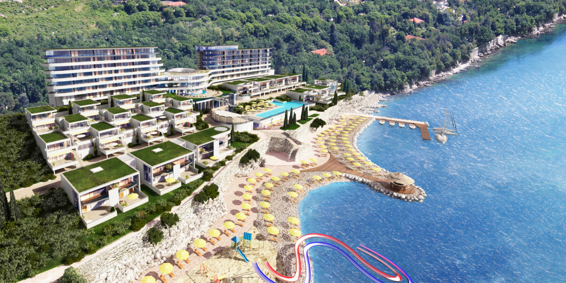 Novi Hilton Costabella Beach Resort & Spa
