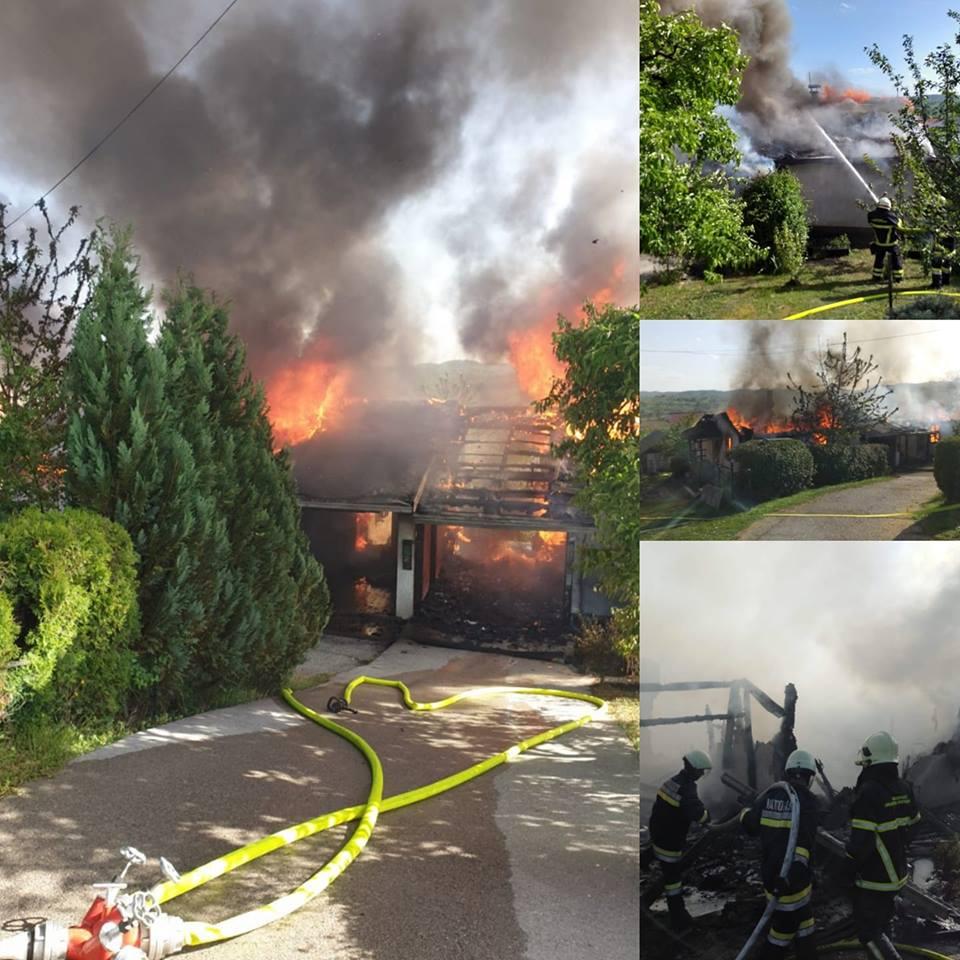 Požar u Kostajnici