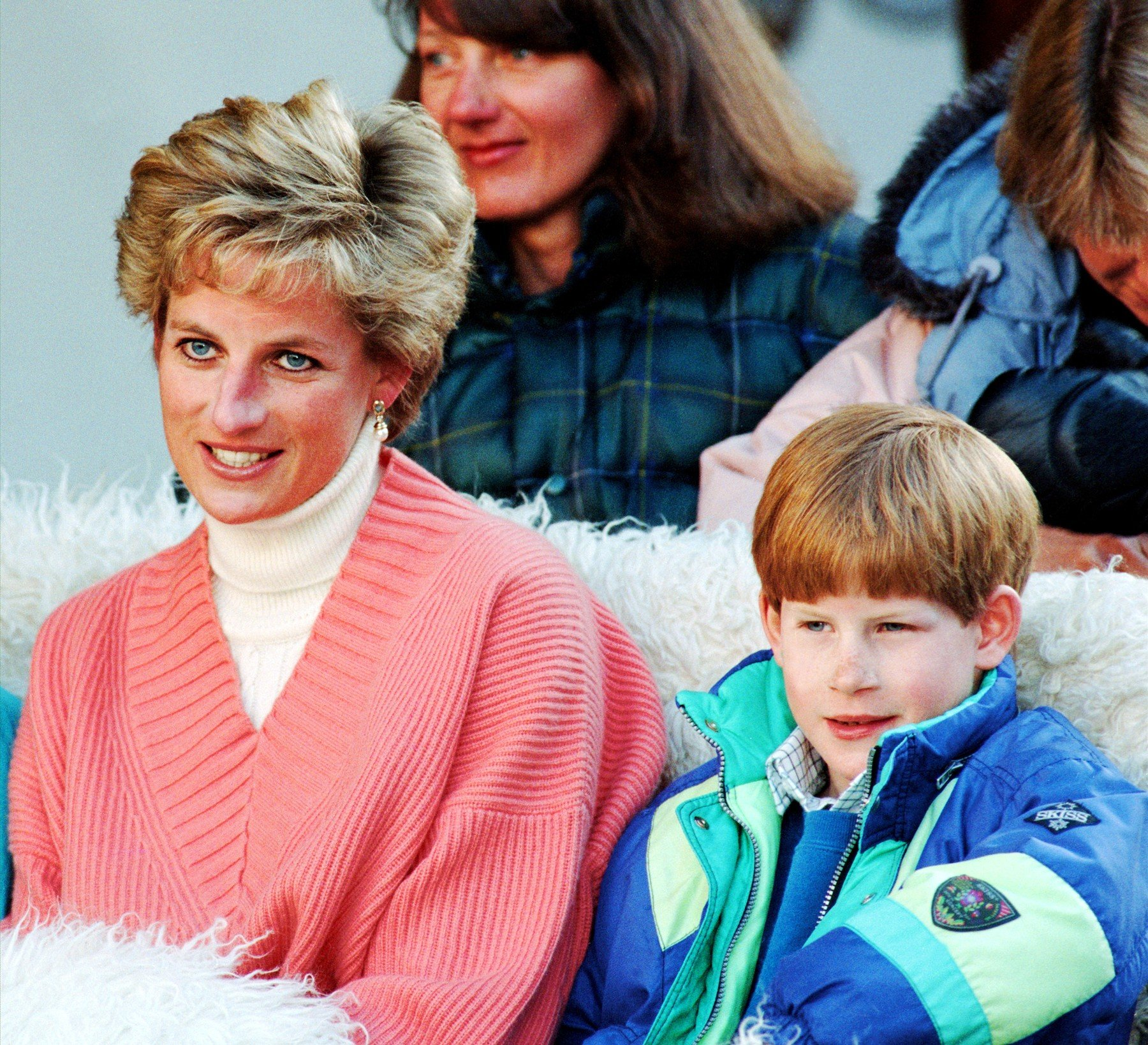 Princess Diana with Prince Harry Princess Diana on a skiing holiday, Lech, Austria - Mar 1994, Image: 230962492, License: Rights-managed, Restrictions: , Model Release: no, Credit line: Profimedia, TEMP Rex Features