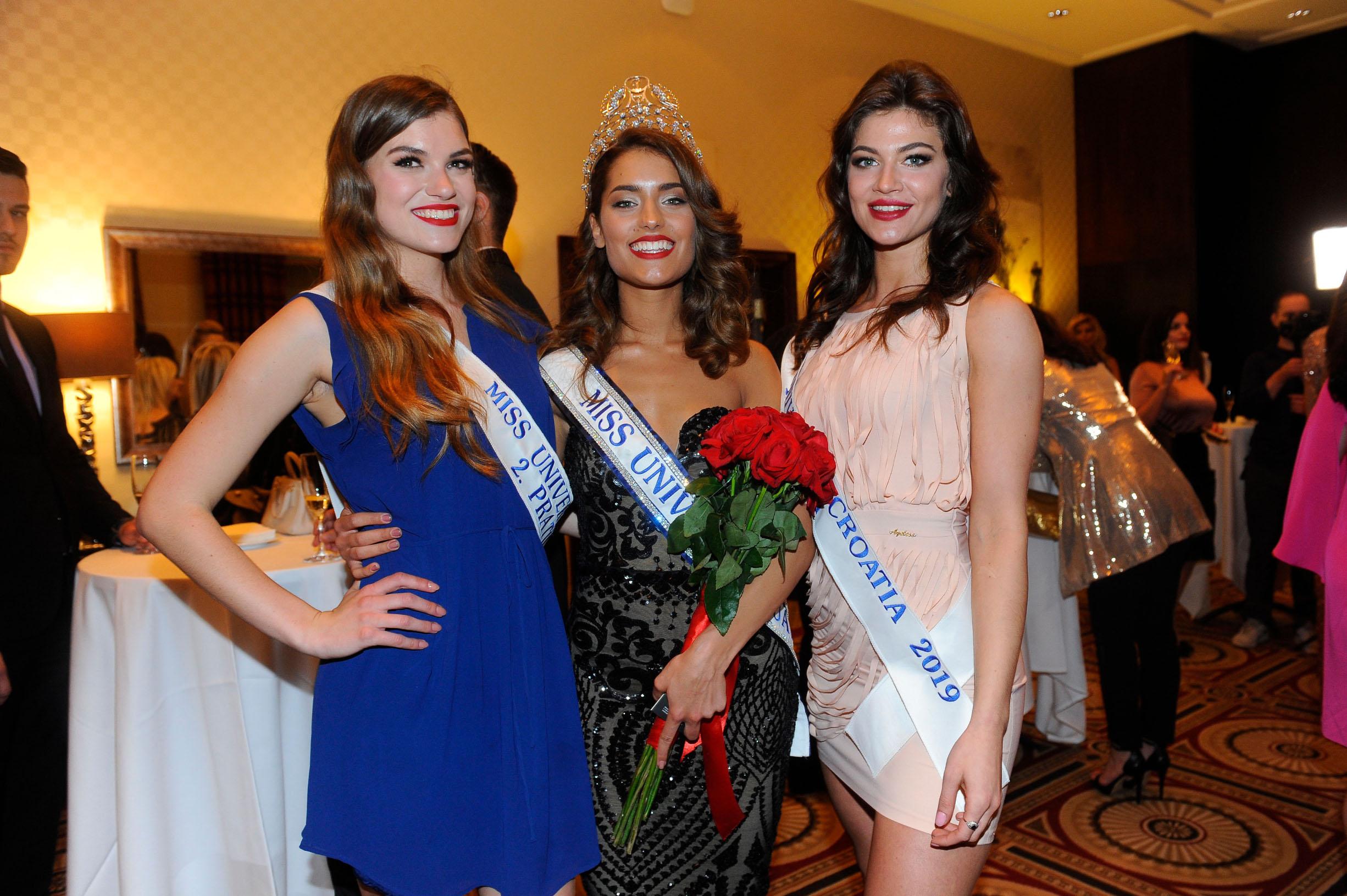Druga pratilja Maja Čatlak, Miss Universe Mia Rkman, Prva pratilja Tea Slavica