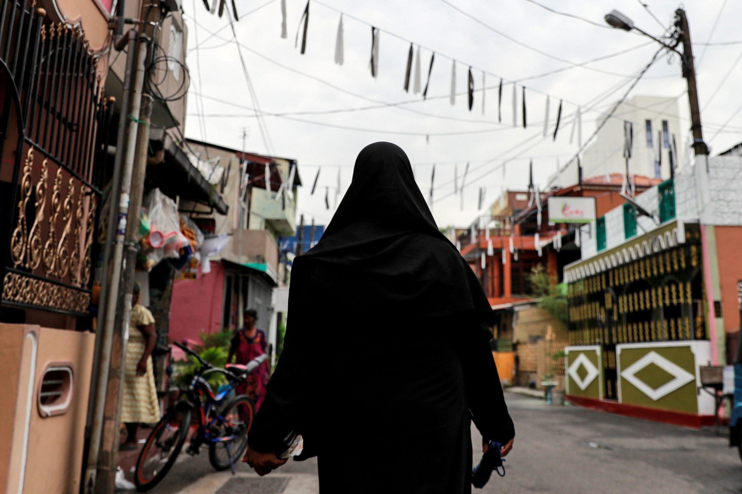 Muslimanka s burkom u Šri Lanci