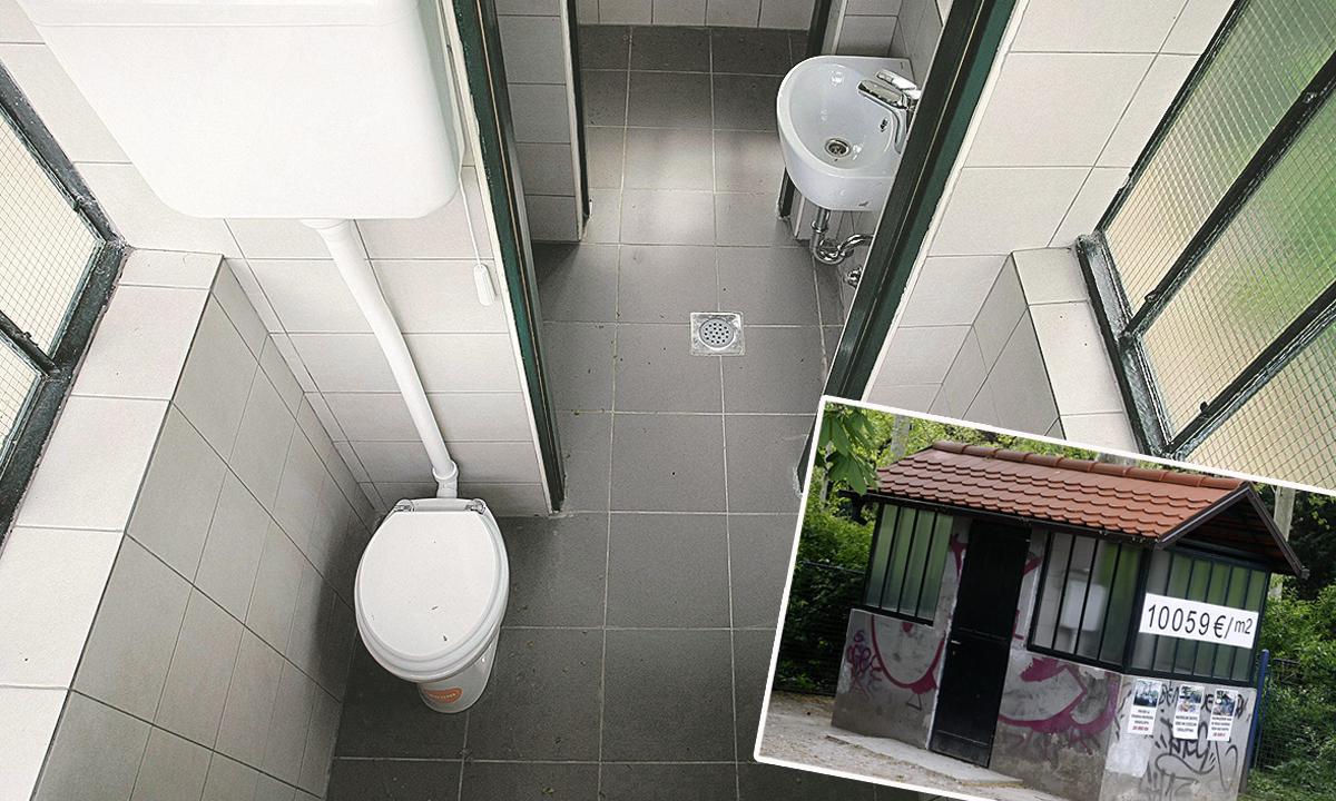 Javni WC u Zagrebu