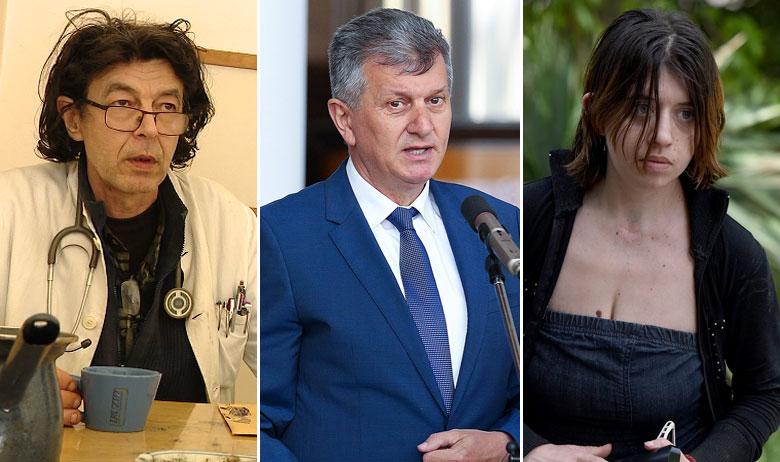 Goran Jusup, Milan Kujundžić, Veronika Pecolaj