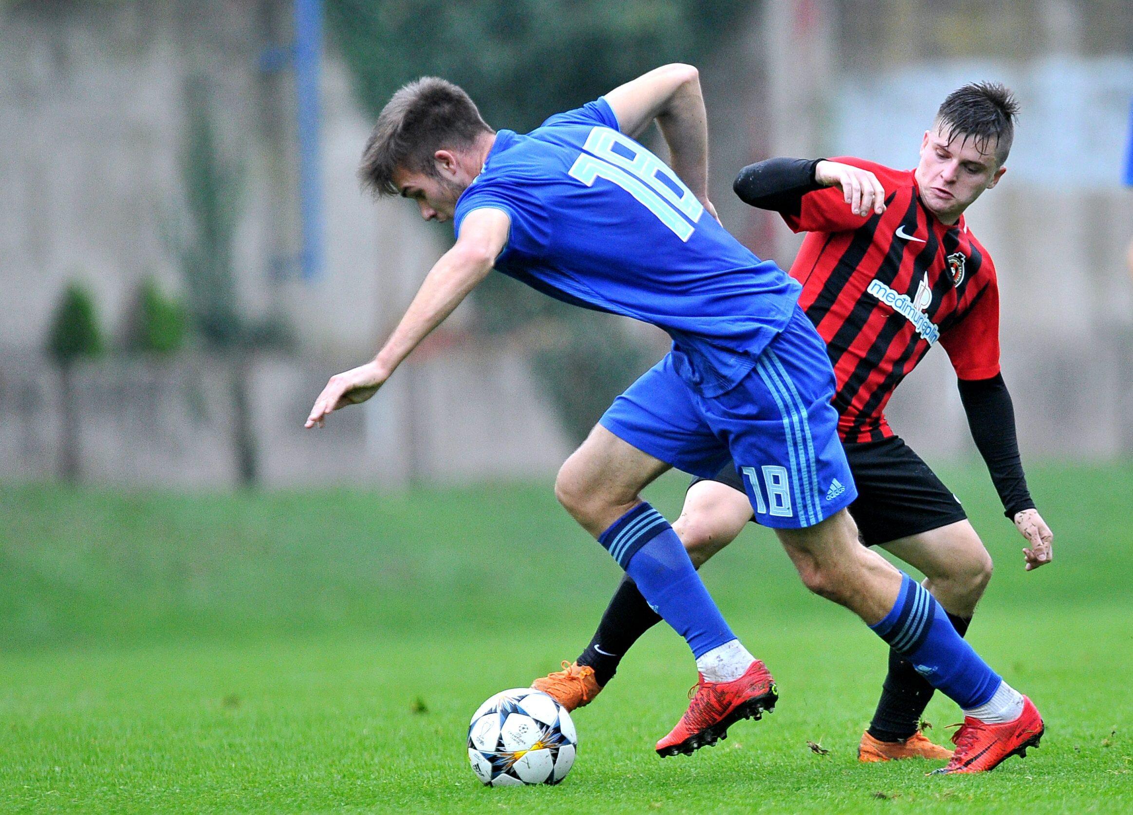 Mario Ćuže u Dinamovom dresu