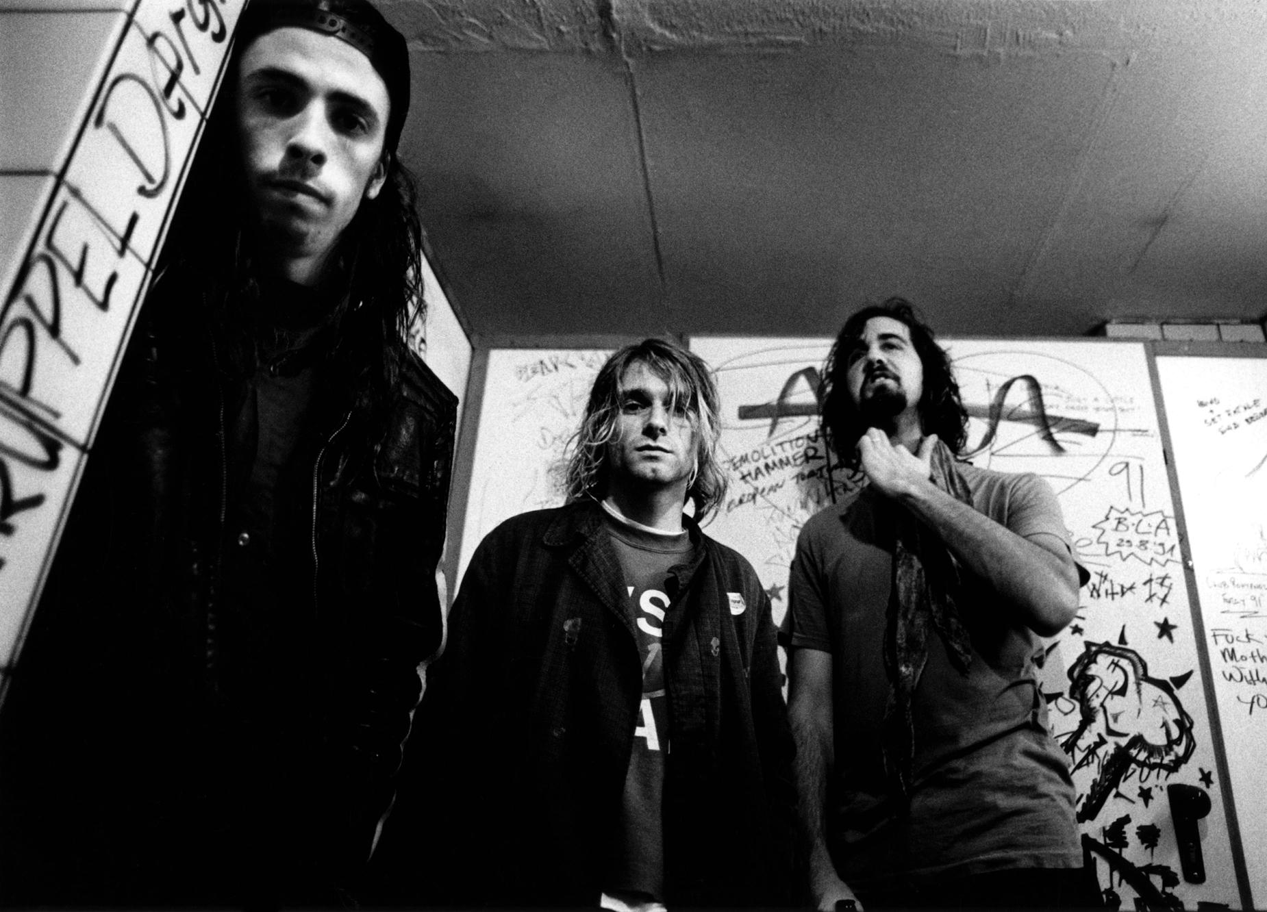 Nirvana: Dave Grohl, Kurt Cobain i Chris Novoselic