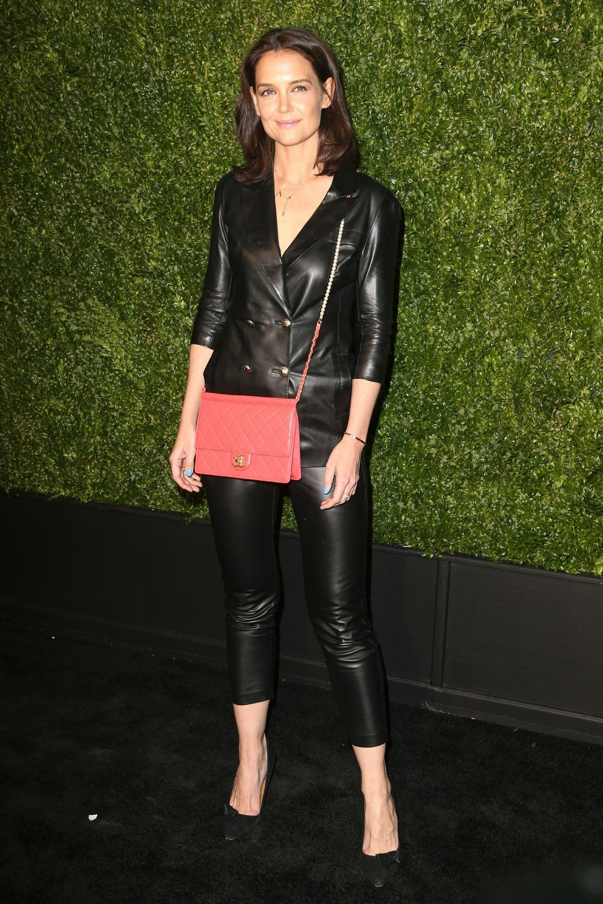 , New York, NY - 20190429 Celebrities arrive for the annual Tribeca Film Festival Artists Dinner hosted by Chanel.  -PICTURED: Katie Holmes -, Image: 429713046, License: Rights-managed, Restrictions: , Model Release: no, Credit line: Profimedia, INSTAR Images