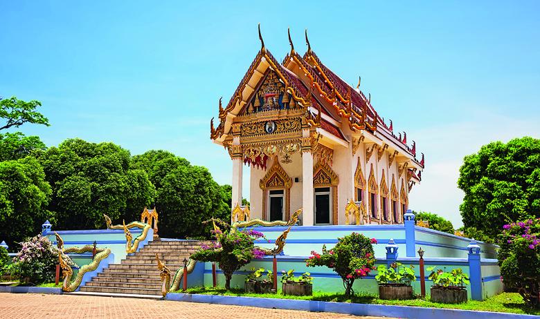 Thailand, Koh Samui, Kunaram Temple (Wat Kunaram)