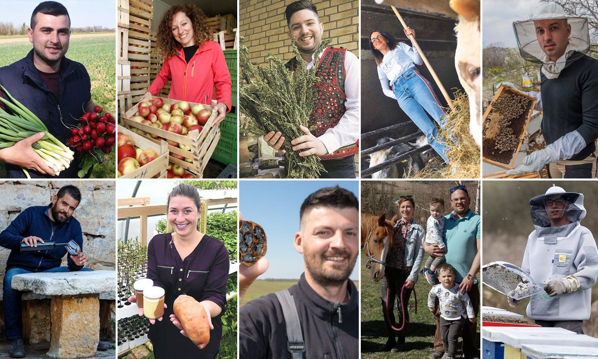 Kandidati za izbor najboljeg poljoprivrednika Hrvatske