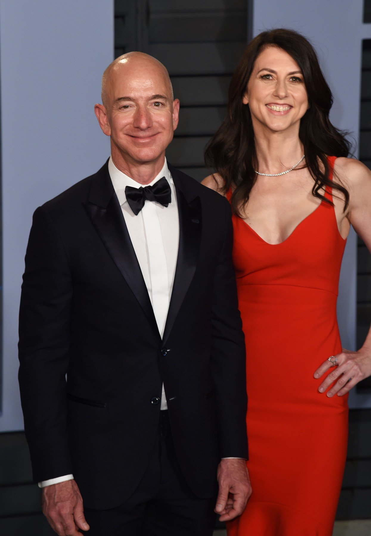 Jeff Bezos and MacKenzie Bezos Vanity Fair Oscar Party, Arrivals, Los Angeles, USA - 04 Mar 2018, Image: 365158764, License: Rights-managed, Restrictions: Managed by Silverhub, Model Release: no, Credit line: Profimedia, TEMP Rex Features