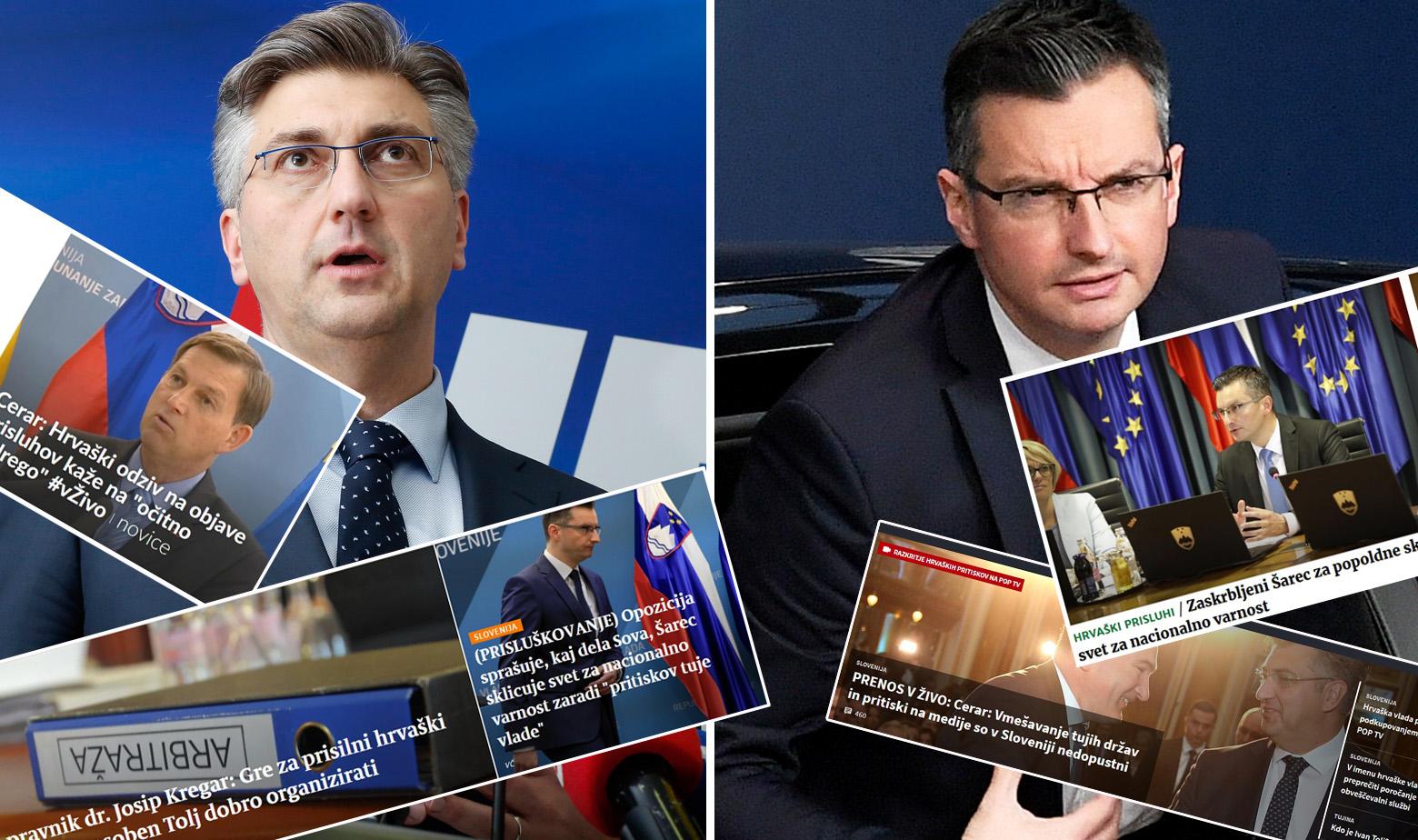 Andrej Planković, Marjan Šarec i naslovnice slovenskih portala 9.4.2019.