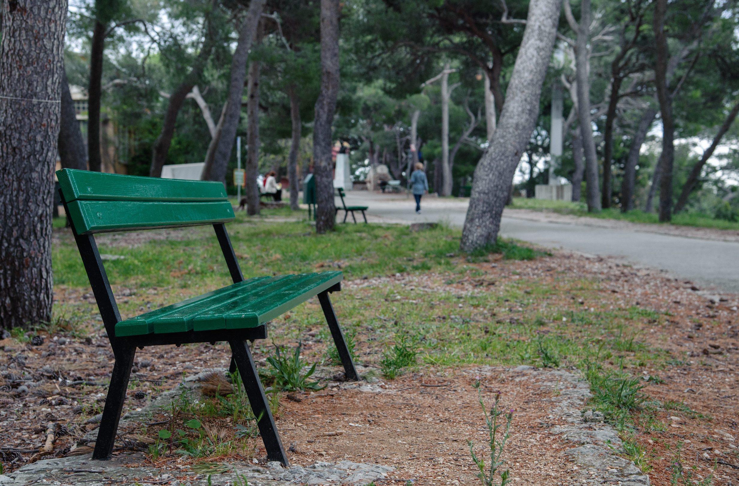 Split, 010519. Prvosvibanjska proslava se ove godine ne odrzava na Marjanu pa je plato kod zooloskog vrta prazan. Foto: Tom Dubravec / CROPIX