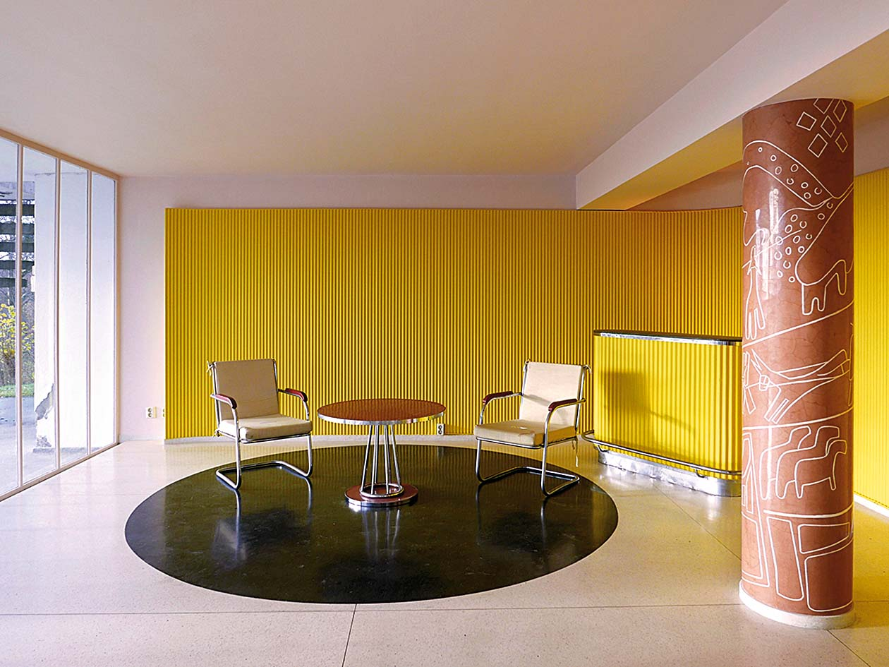 Modernistička vila Stenersen u Oslu puna je akcenata u žutoj boji