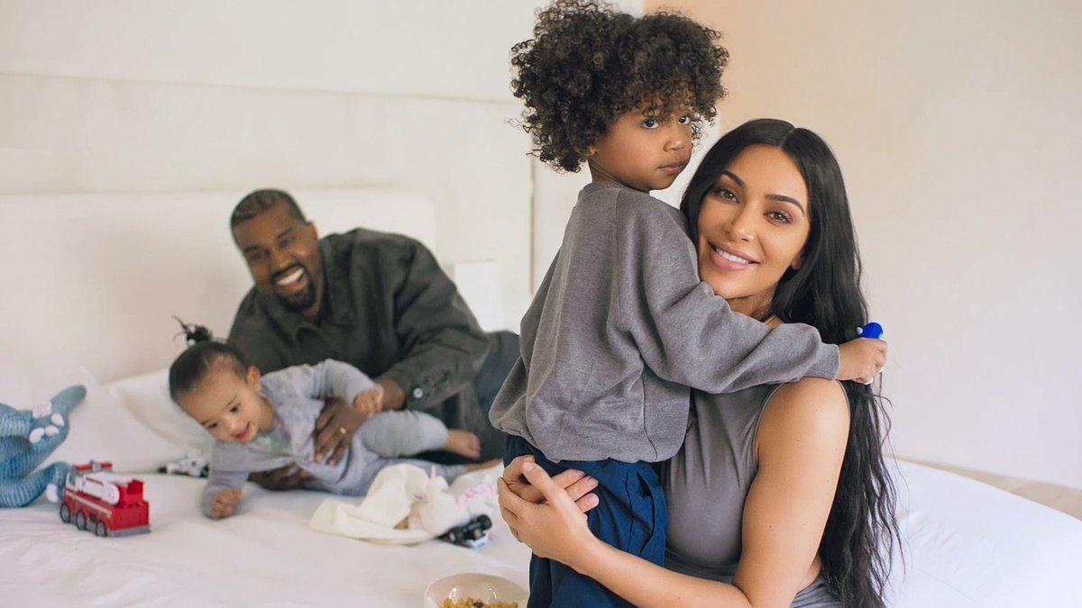 Kim i Kanye s djecom, Arhiva