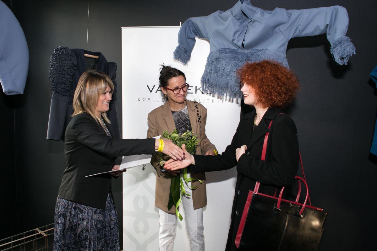 Dobitnica prve nagrade Nika Vrbica