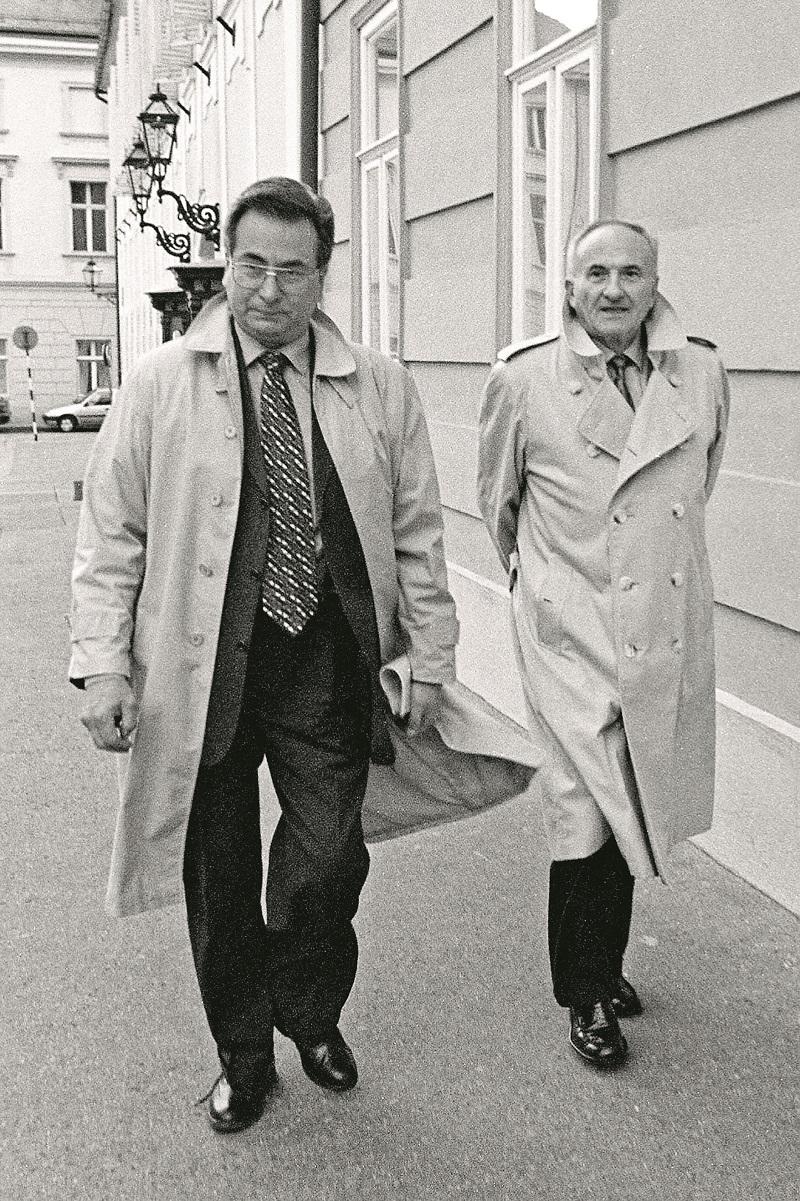 Vlado Gotovac i Dražen Budiša