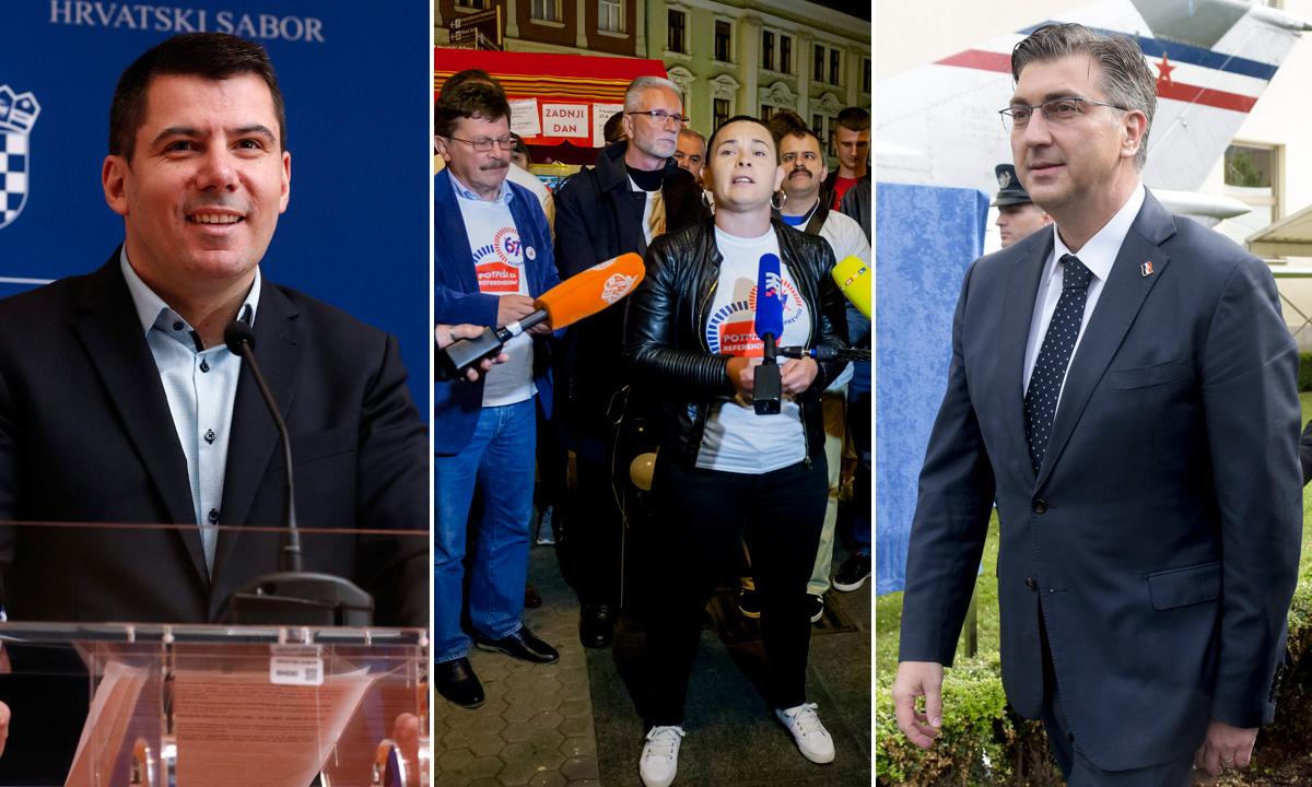 Nikola Grmoja, presica inicijative '67 je previše' i Andrej Plenković