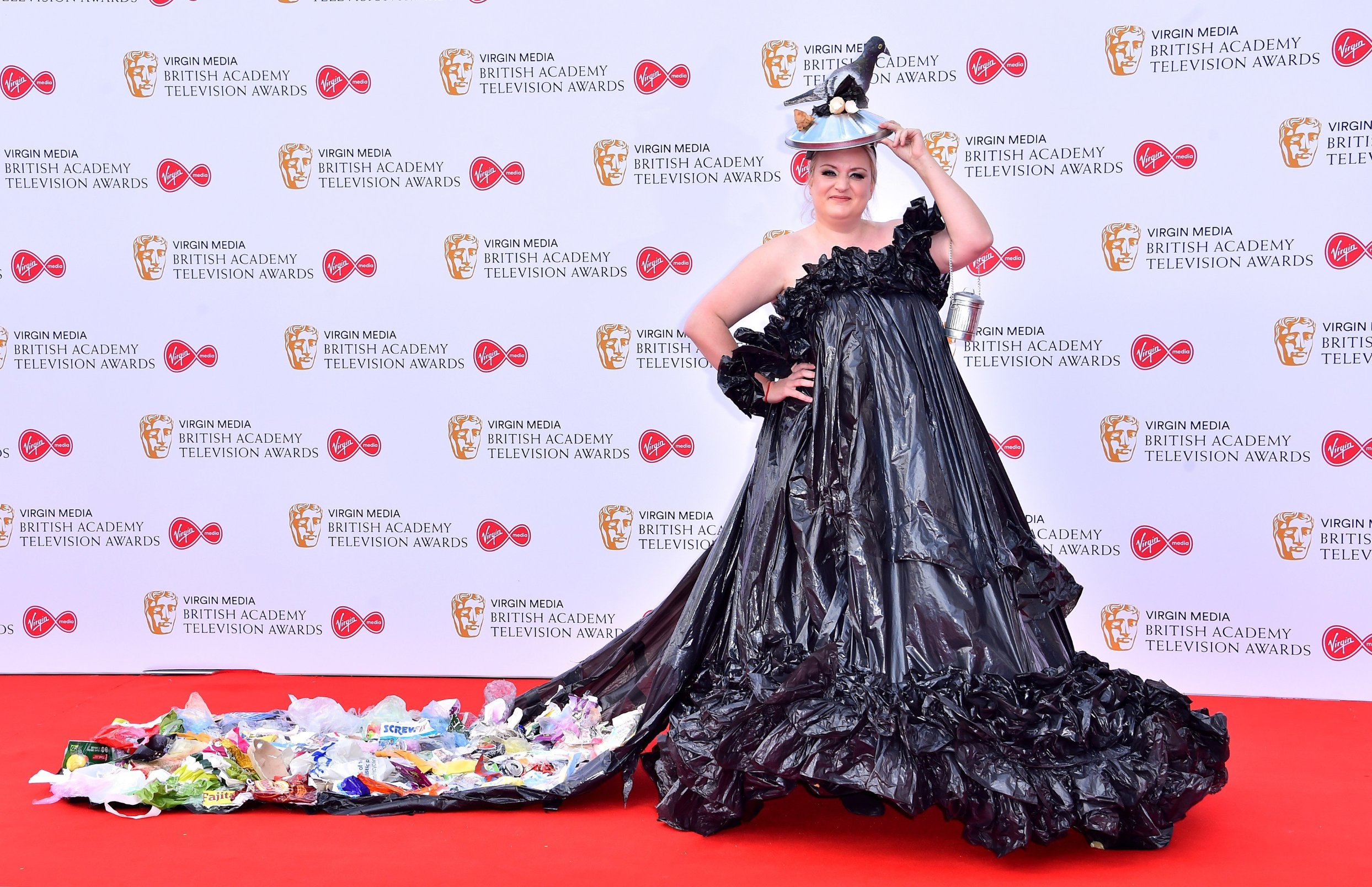 Daisy May Cooper attending the Virgin Media BAFTA TV awards, held at the Royal Festival Hall in London., Image: 432680532, License: Rights-managed, Restrictions: , Model Release: no, Credit line: Profimedia, Press Association