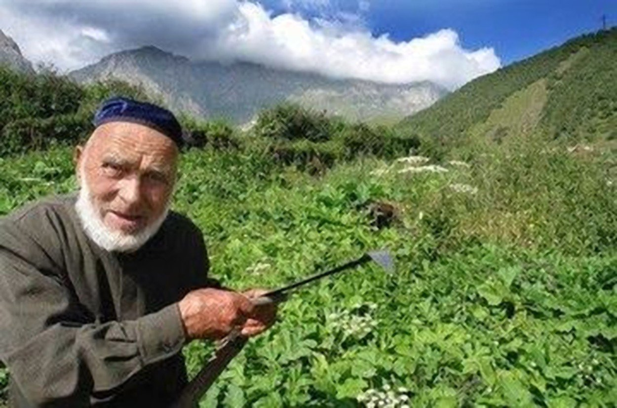 "A pensioner claimed by Russia to be the oldest man in the world has died aged 123 after revealing the secret of his longevity was to avoid alcohol, smoking and medication - while getting 11 hours sleep a  night.     Father-of-eight Appaz Iliev went to work aged seven as a shepherd, and fought for the Red Army in the Russian Civil War 1917-22, it is claimed.     But at the age of 45 he was deemed too old to fight in the Second World War and instead became a tractor driver.     In 1944 he was deported by Stalin along with other ethnic Ingush people to Kazakstan where he lived in abject poverty in internal exile.     If his age was correct - and his birth records do not survive - he would have been  older than than the officially verified longest-living man -  Jiroemon Kimura (1897–2013) of Japan - who died at 116 years, 54 days.    The head of Ingushetia republic, Yunus-Bek Evkurov, posted: ""Our long living man, the eldest citizen of Russia, Appaz Iliev has died  at the age of 123., Image: 432998899, License: Rights-managed, Restrictions: , Model Release: no, Credit line: Profimedia, East2West News"