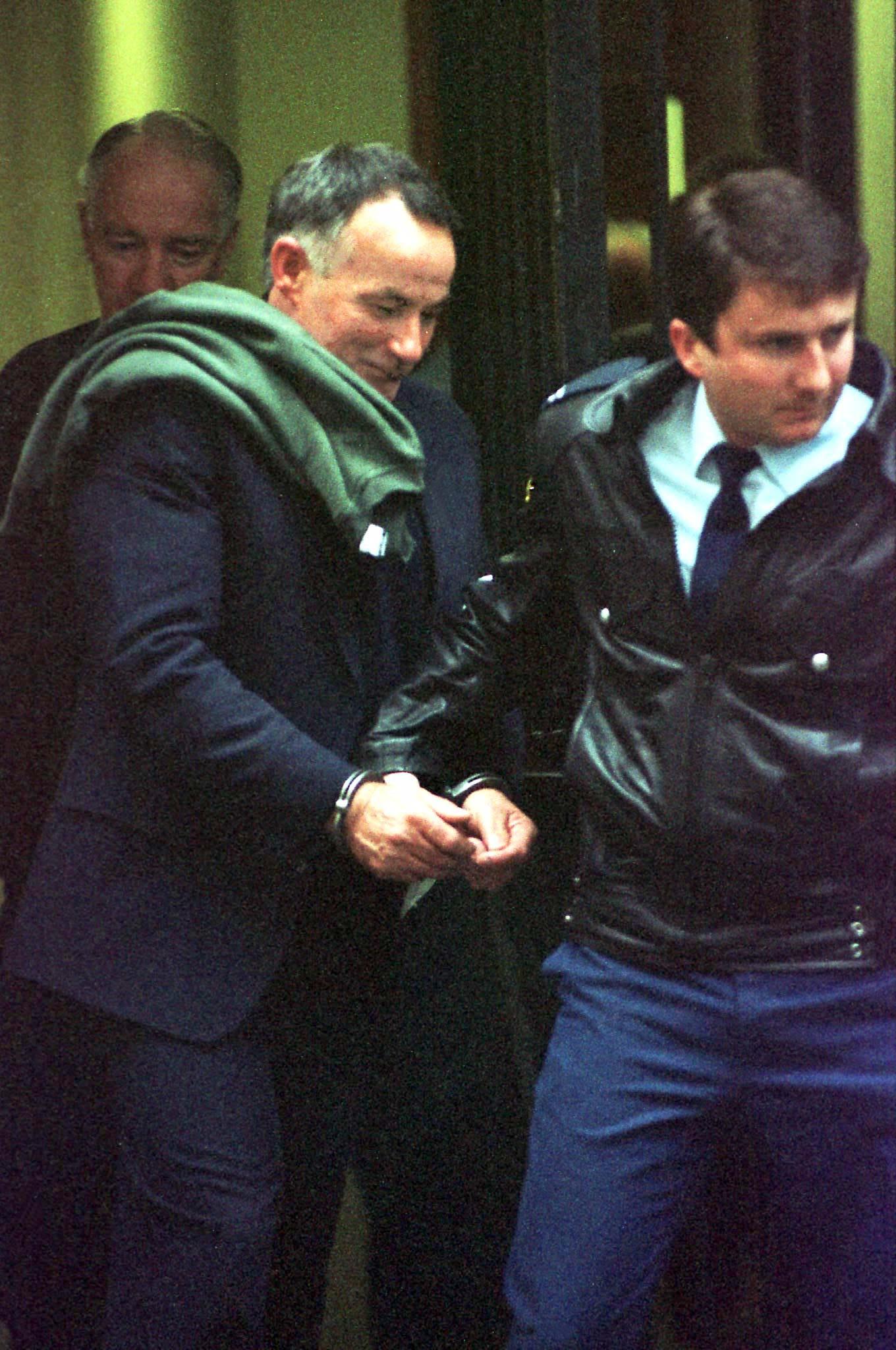 Ivan Milat (u sredini), arhivska fotografija iz 1996.