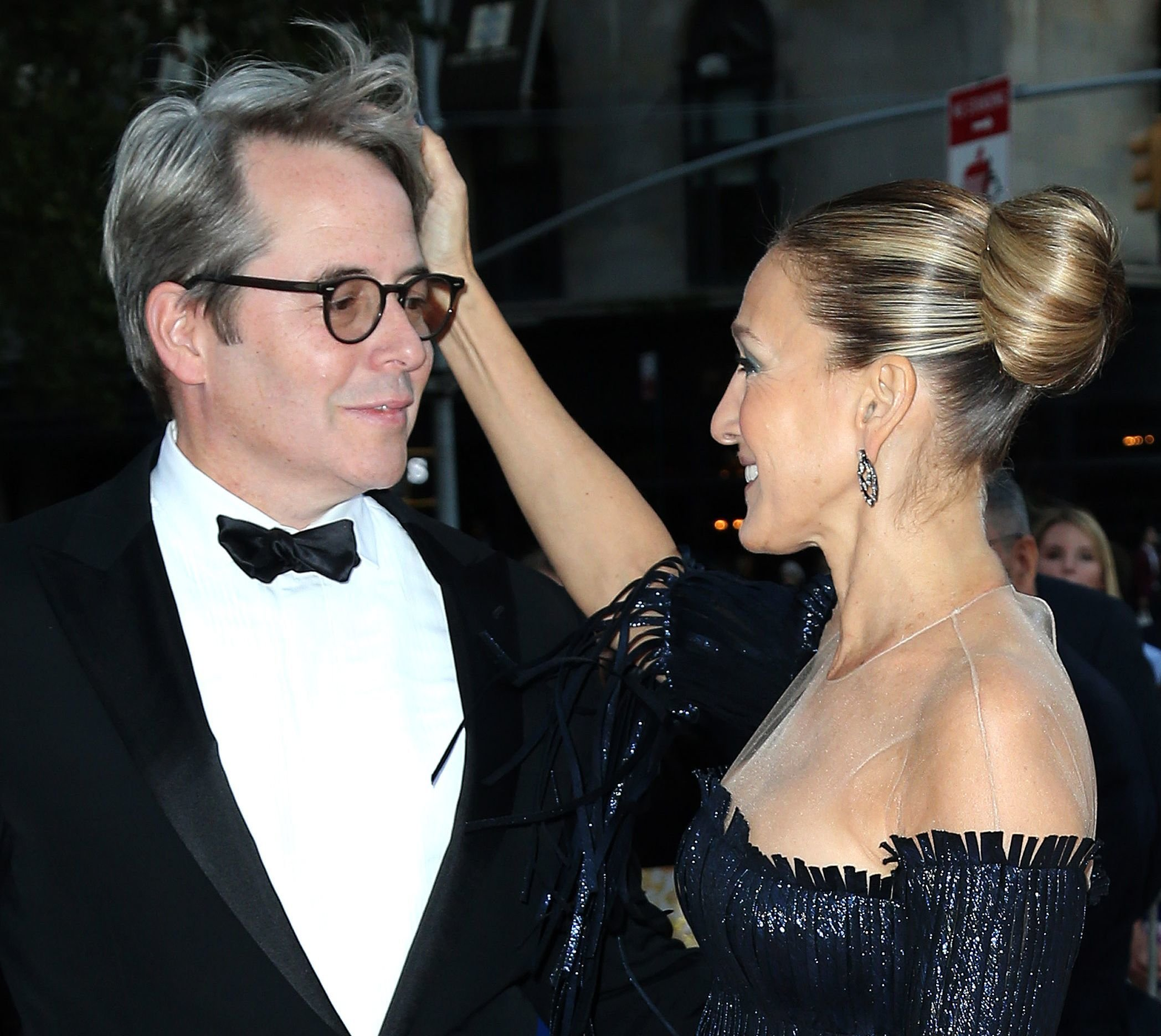 Sarah Jessica Parker, Matthew Broderick New York City Ballet 2017 Fall Fashion Gala, USA - 28 Sep 2017 New York City Ballet's 2017 Fall Fashion Gala at David H. Koch Theater at Lincoln Center - Outside, Image: 350892597, License: Rights-managed, Restrictions: , Model Release: no, Credit line: Profimedia, TEMP Rex Features