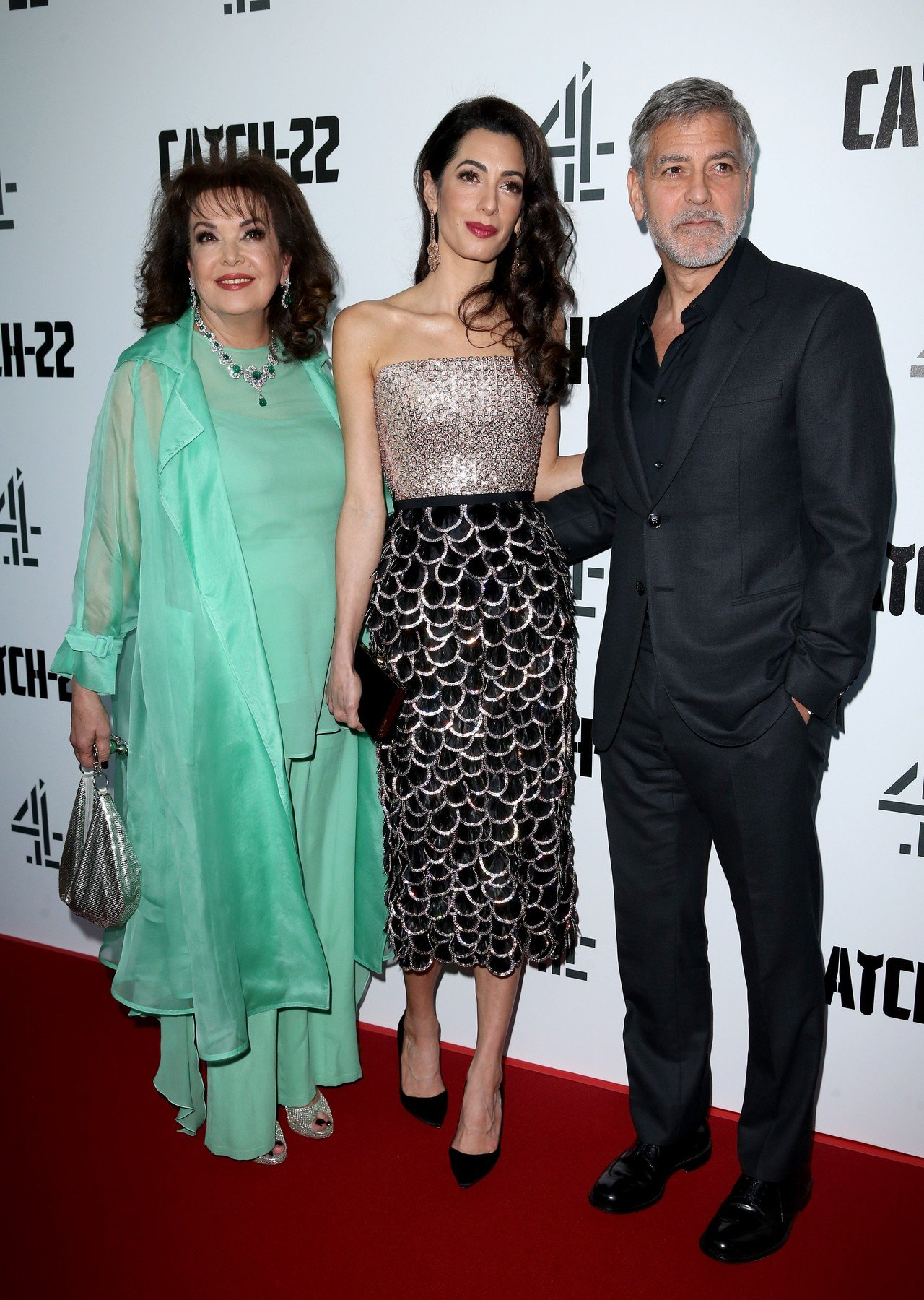 'Catch 22' TV premiere at Vue Cinema in Westfield,  London, UK. 15 May 2019, Image: 433496007, License: Rights-managed, Restrictions: World Rights, Model Release: no, Credit line: Profimedia, Mega Agency