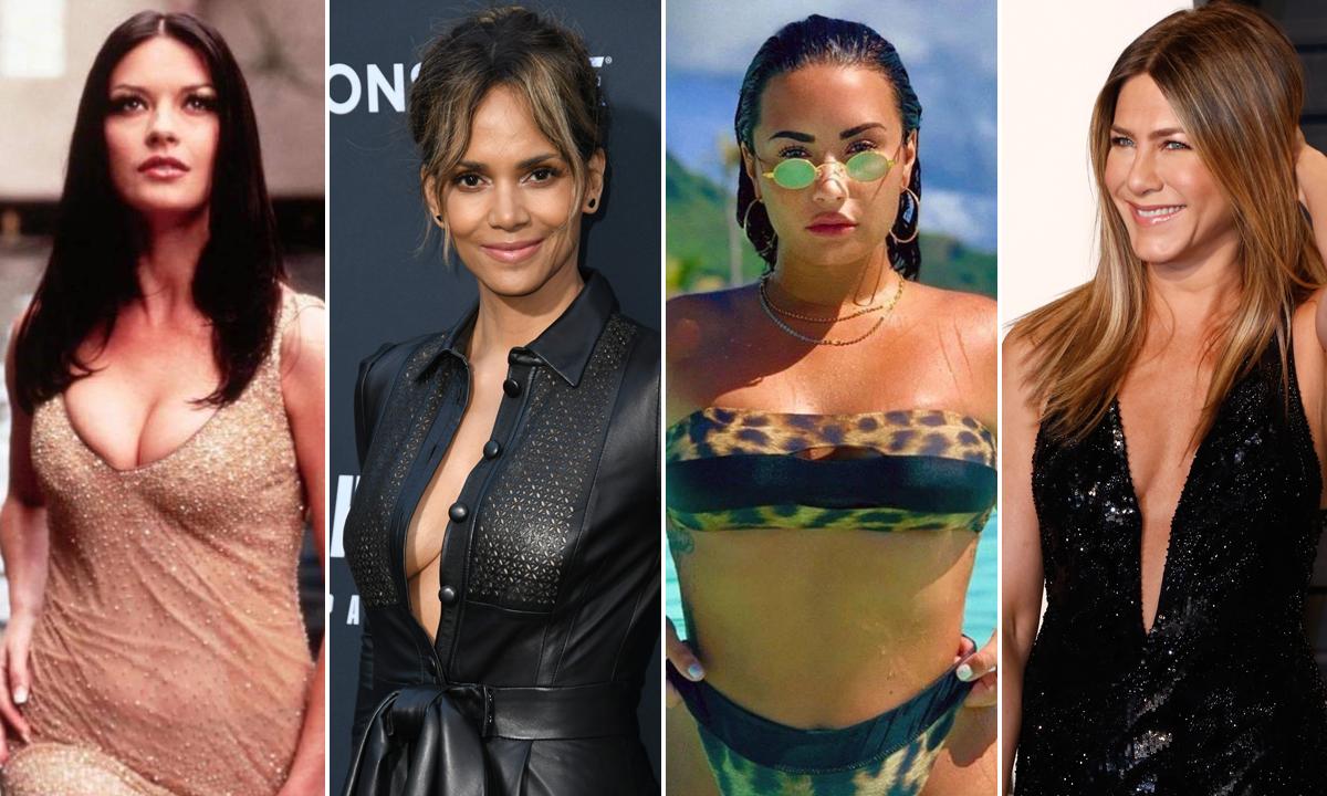 Catherine Zeta-Jones, Halle Berry, Demi Lovato i Jennifer Aniston