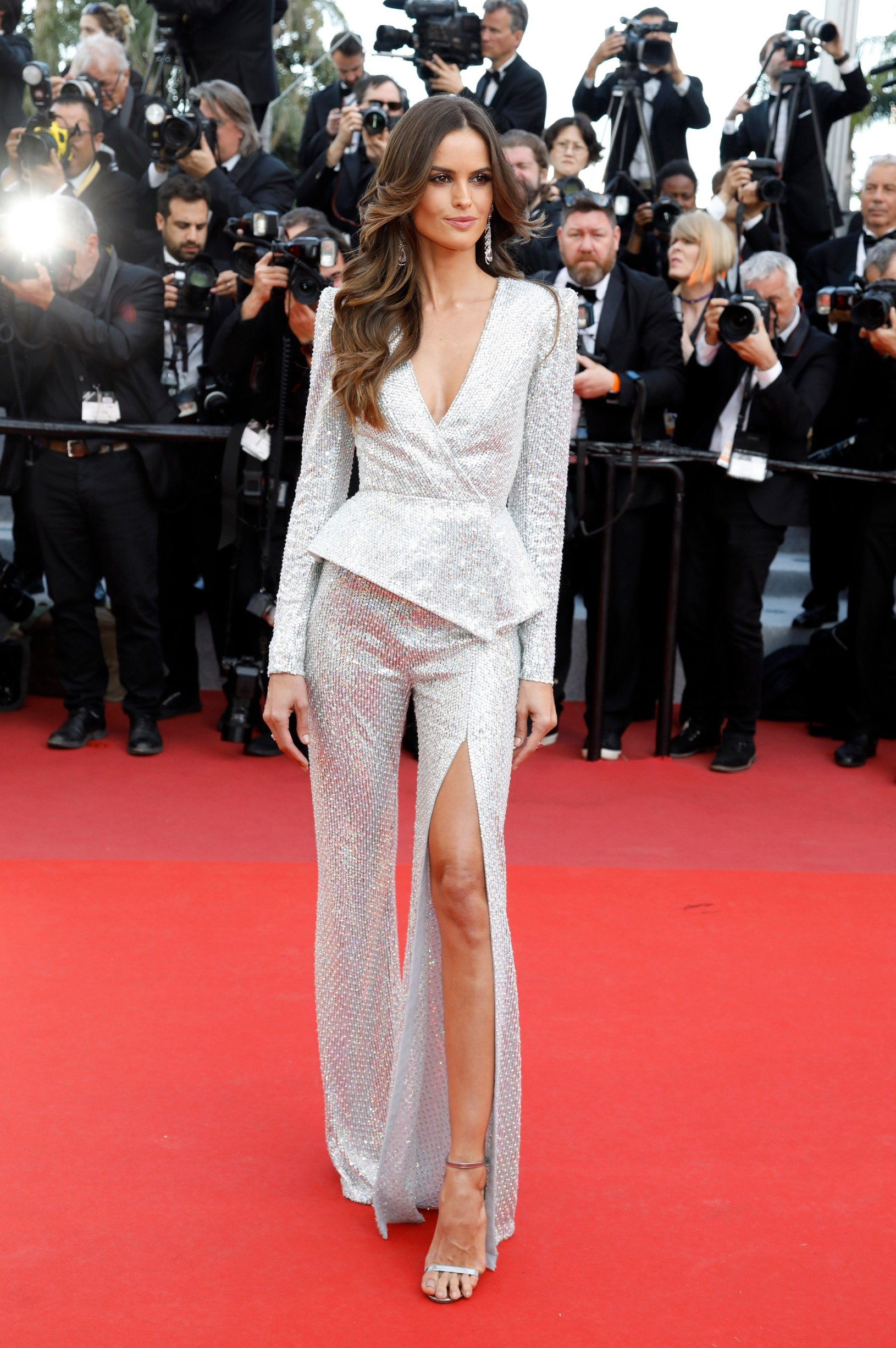 May 16, 2019 - Cannes, Alpes-Maritimes, Frankreich - Izabel Goulart attending the 'Rocketman' premiere during the 72nd Cannes Film Festival at the Palais des Festivals on May15, 2019 in Cannes, France, Image: 433855432, License: Rights-managed, Restrictions: , Model Release: no, Credit line: Profimedia, Zuma Press - Entertaiment