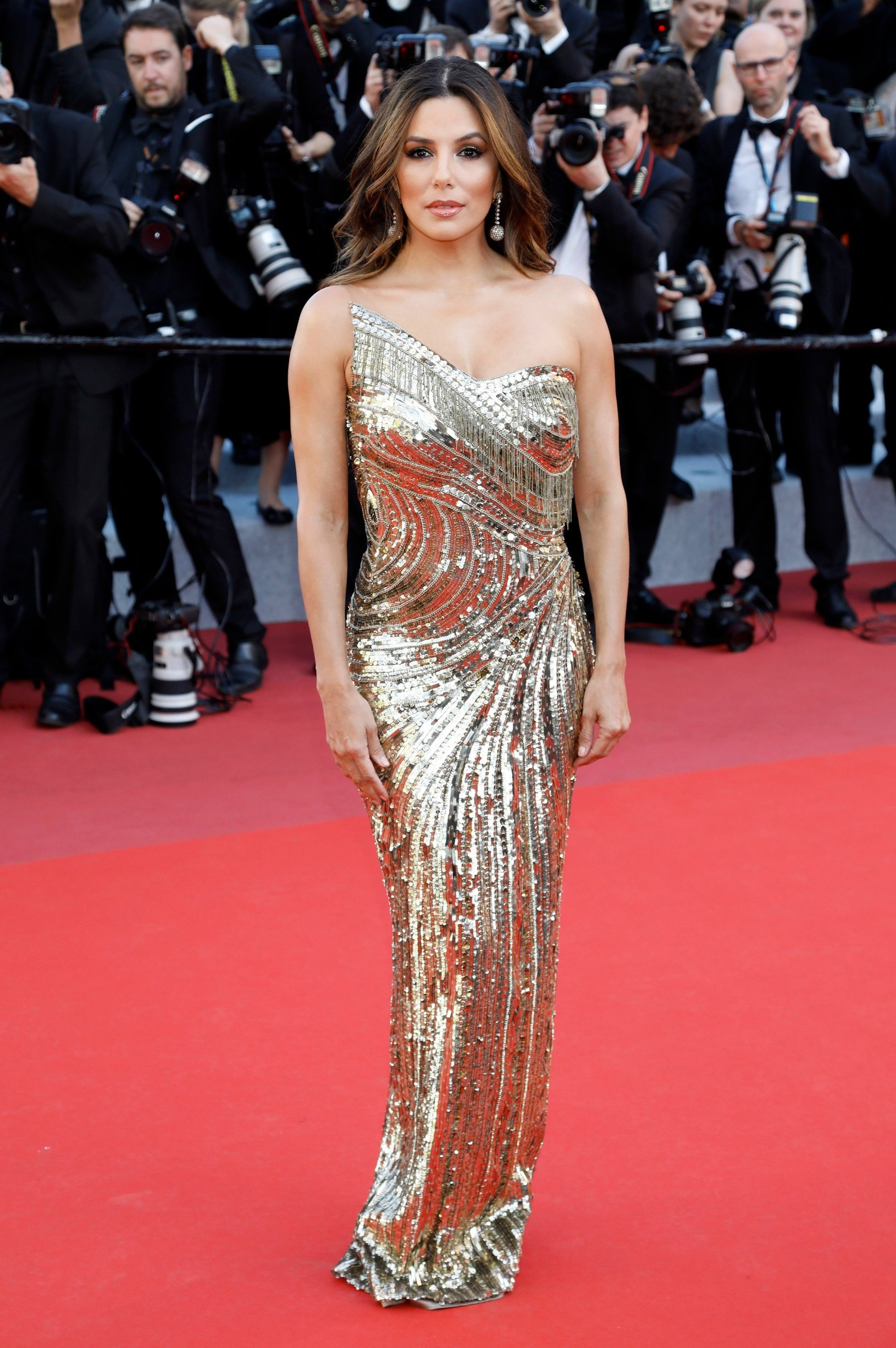May 16, 2019 - Cannes, Alpes-Maritimes, Frankreich - Eva Longoria attending the 'Rocketman' premiere during the 72nd Cannes Film Festival at the Palais des Festivals on May15, 2019 in Cannes, France, Image: 433865331, License: Rights-managed, Restrictions: , Model Release: no, Credit line: Profimedia, Zuma Press - Entertaiment