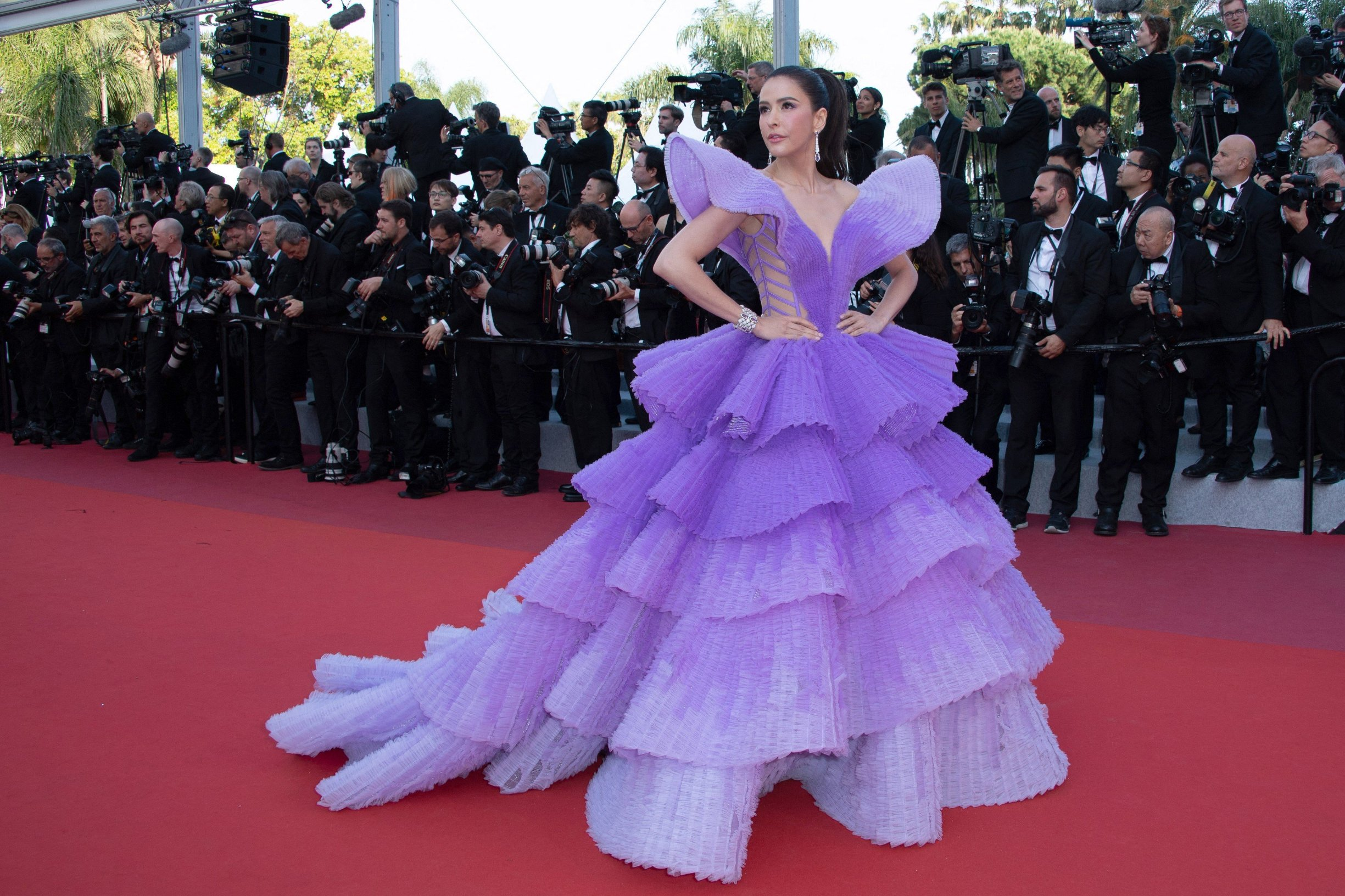 Sririta Jensen attending the Rocketman Premiere as part of the 72nd Cannes International Film Festival in Cannes, France on May 16, 2019., Image: 433966125, License: Rights-managed, Restrictions: , Model Release: no, Credit line: Profimedia, Abaca Press