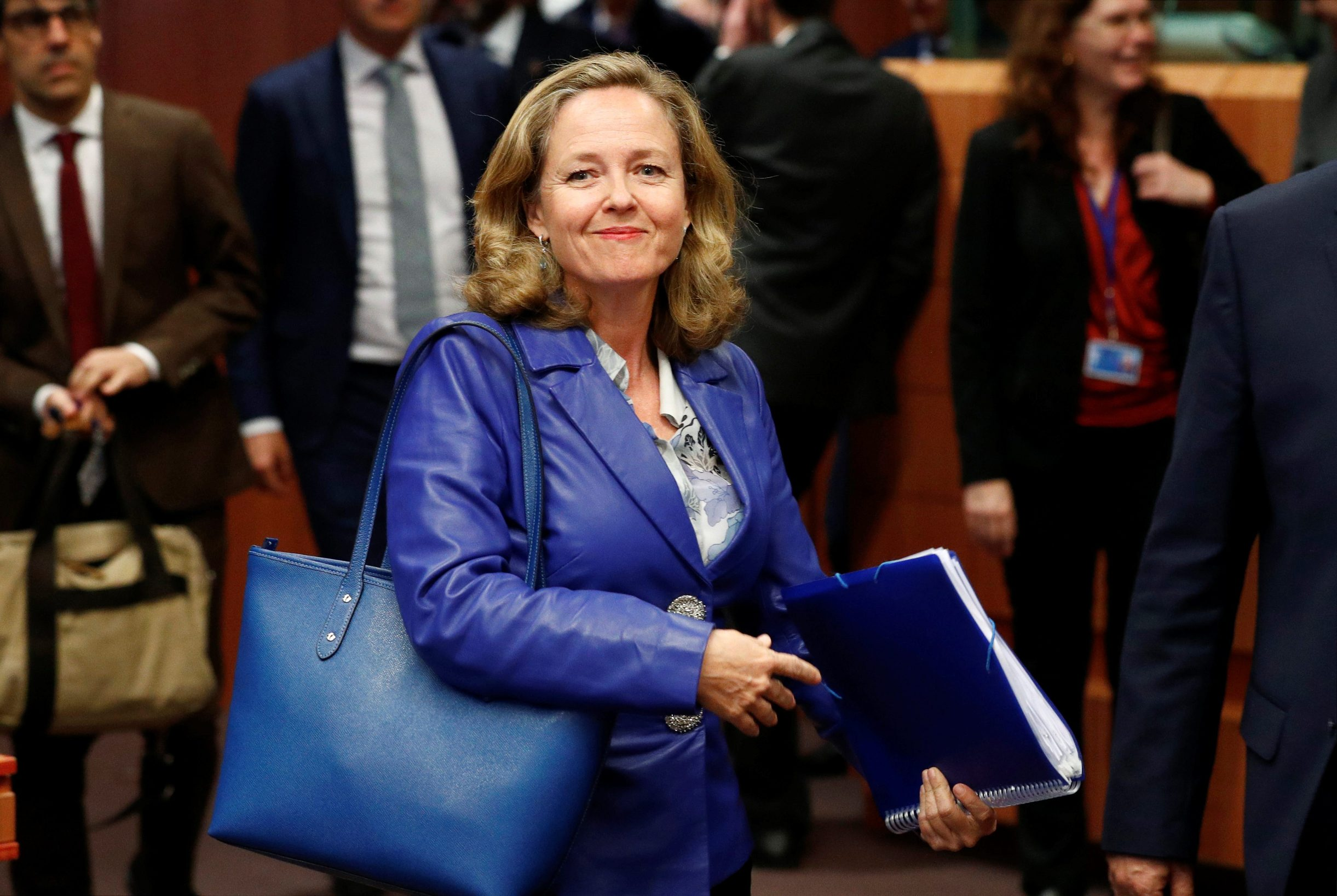 Nadia Calvino, španjolska ministrica ekonomije, bila je na sastanku u Bruxellesu