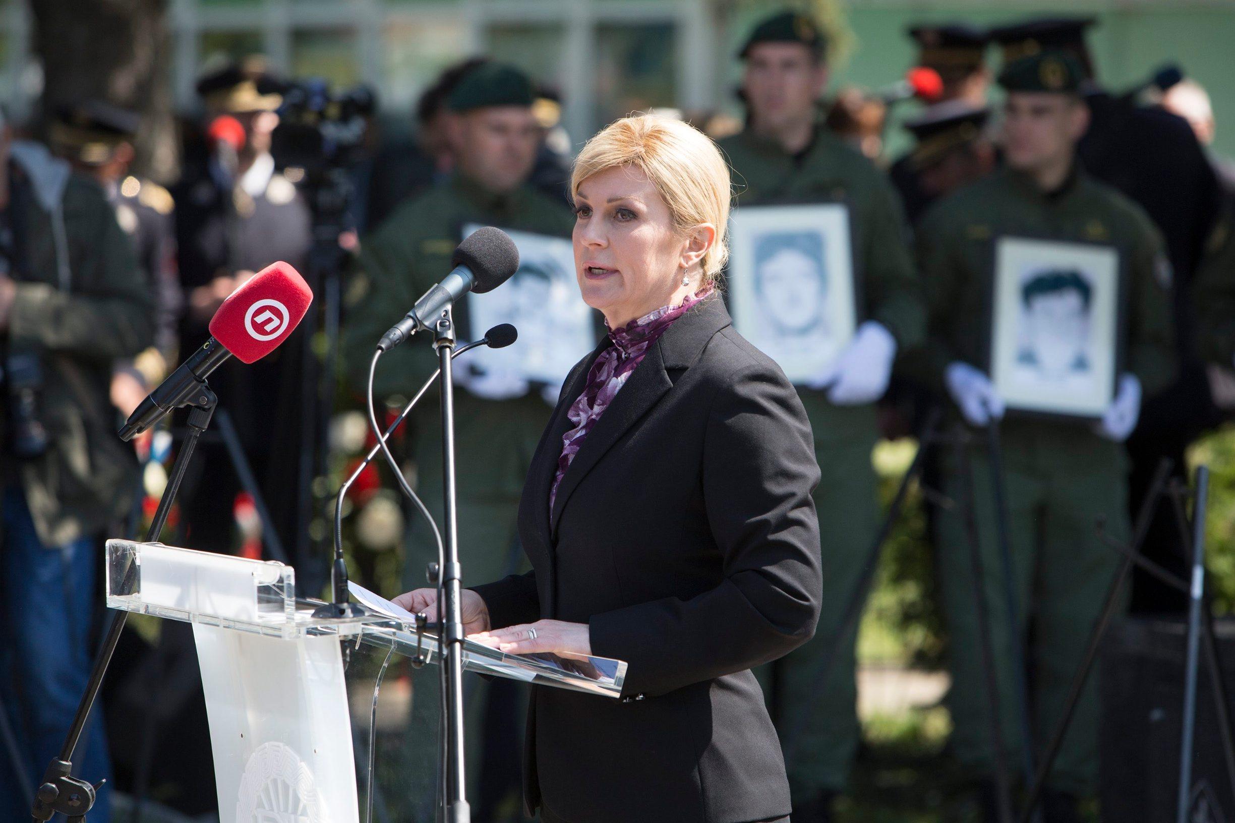 Kolinda Grabar-Kitarović u Borovu