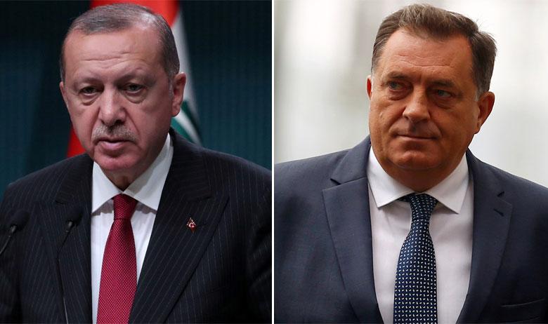 Recep Tayyip Erdogan i Milorad Dodik