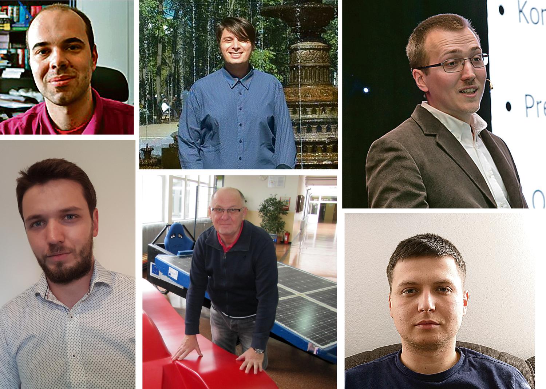 Jakov Baleta,Fran Merzel, Jurica Kundrata, Damijan Cerinski, Stevče Arsoski, Franjo Kozina