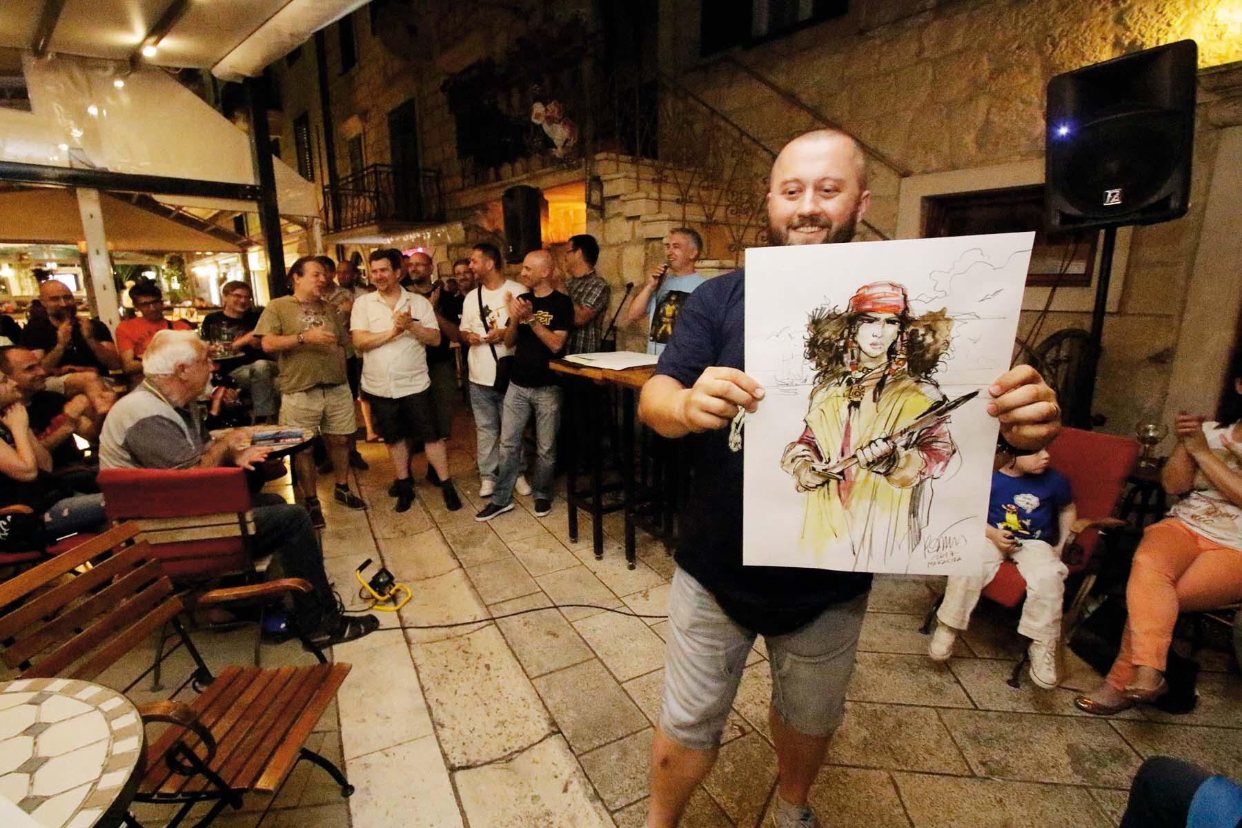 Makarska, 270517.  10. Makarski festival stripa MaFest koji traje 25.-28.svibnja a na njemu kao specijalnii gosti sudjeluje 15 strip autora uz jos 30-ak