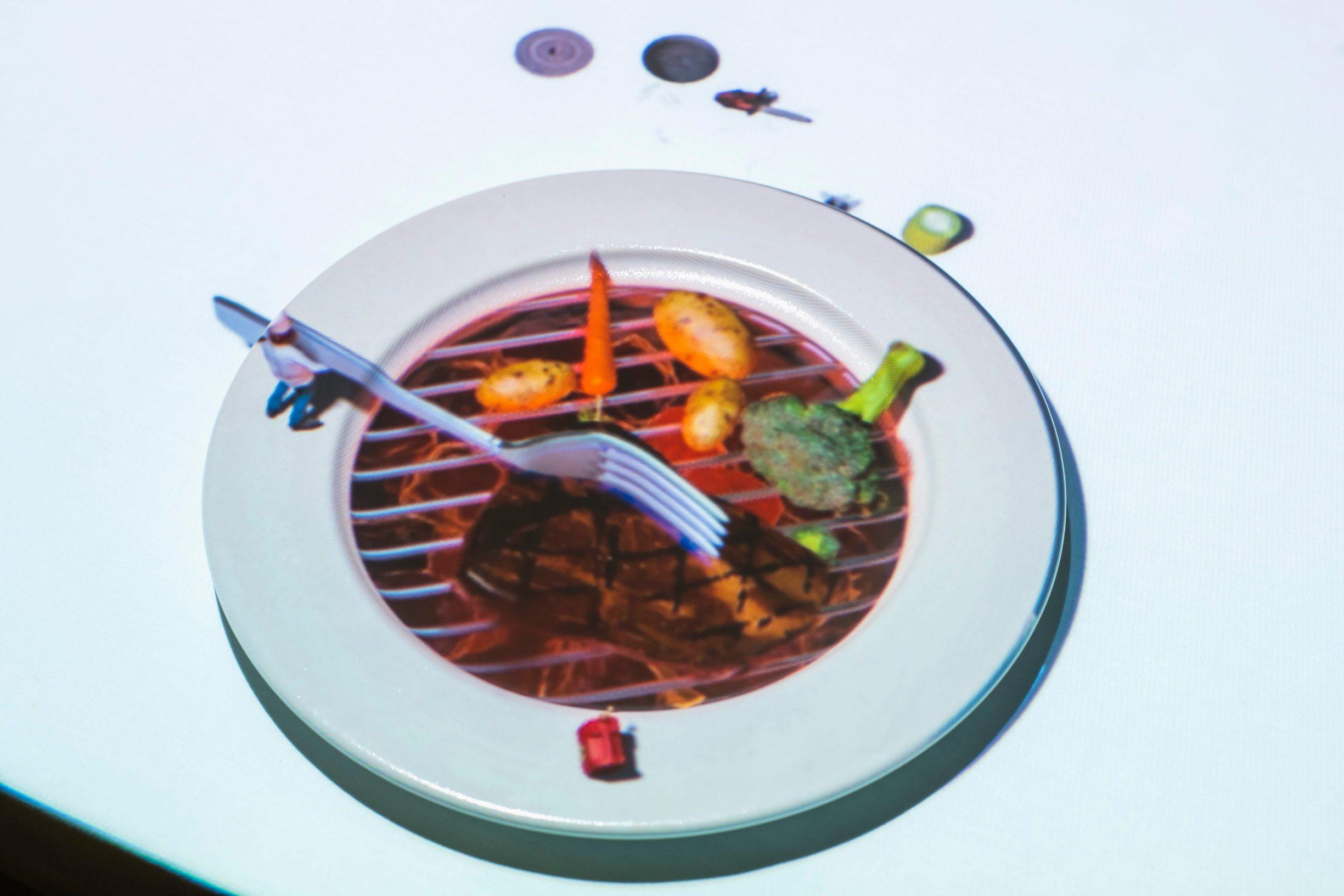 Zagreb, 140519. Restoran Baltazar prvi u Hrvatskoj je uveo menu uz projekcije Le petit chef. Foto: Neja Markicevic / CROPIX