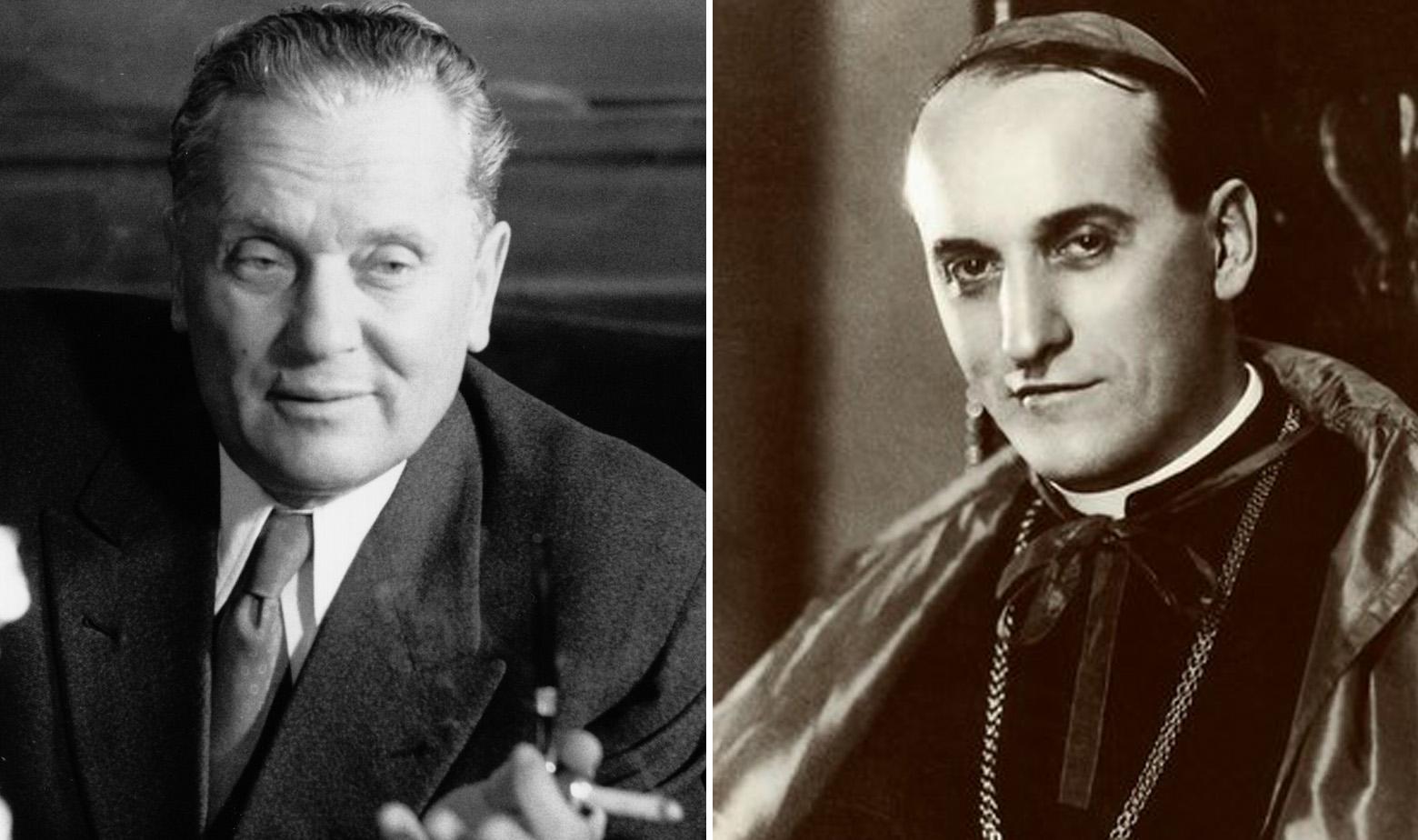 Josip Broz Tito i Alojzije Stepinac