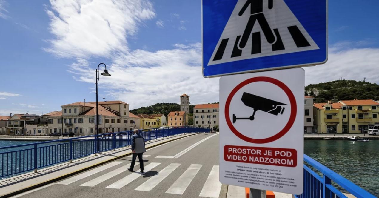 Videonadzor na ulicama Tisnog