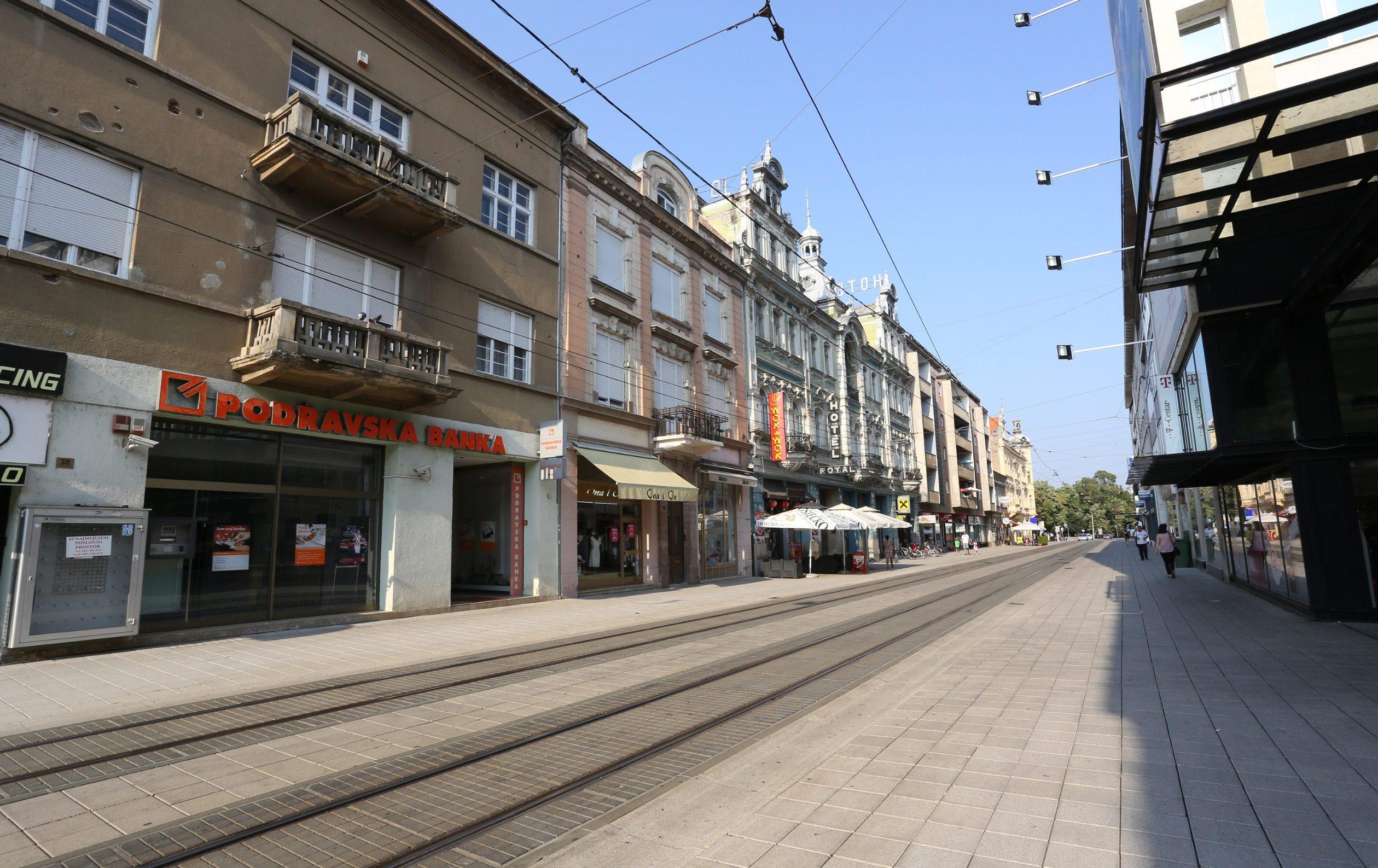 Ilustracija: centar Osijeka