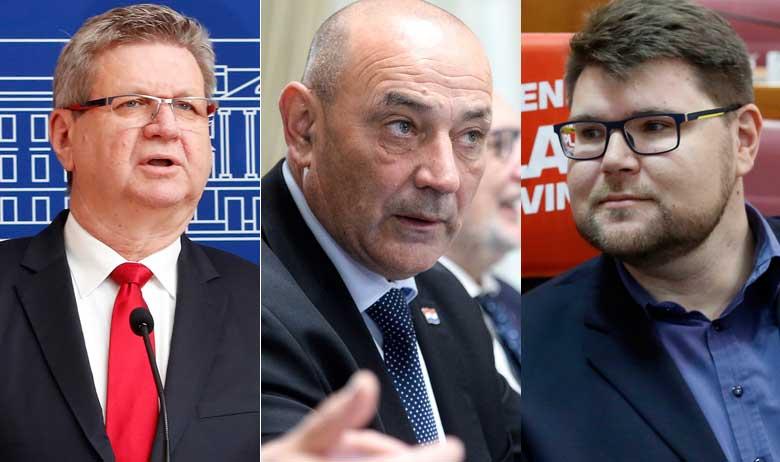 Mirando Mrsić, Tomo Medved i Peđa Grbin