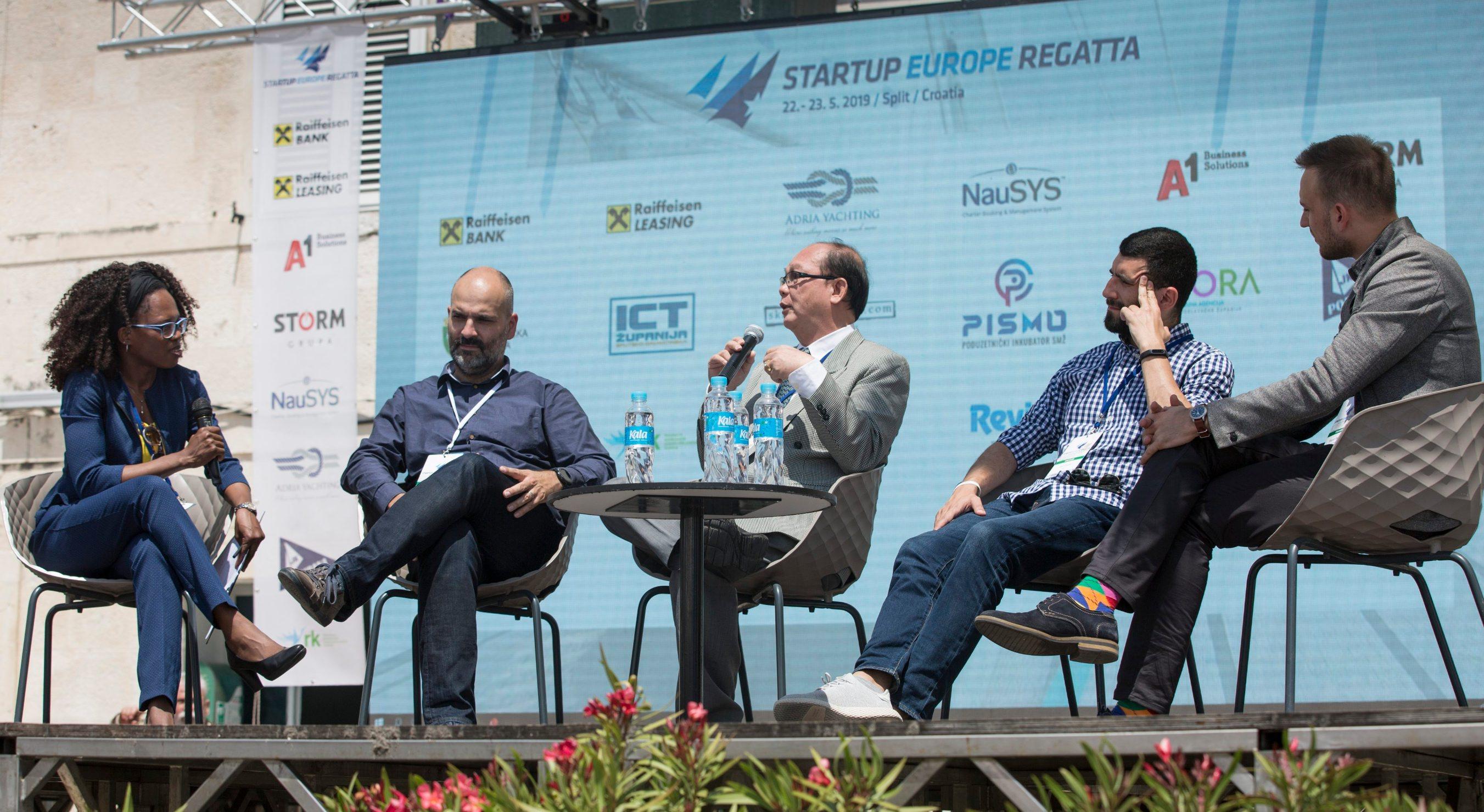 Stephanie Trpkov, Bojan Hadžisejdić, Eddie Virgo, Ivan Glavaš i Stjepan Begušić
