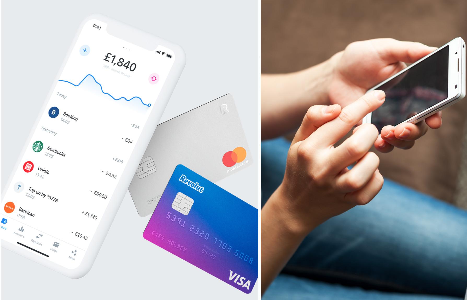 """Mobilna aplikacija Revolut, koja se može opisati kao """"mobilni novčanik"""""""