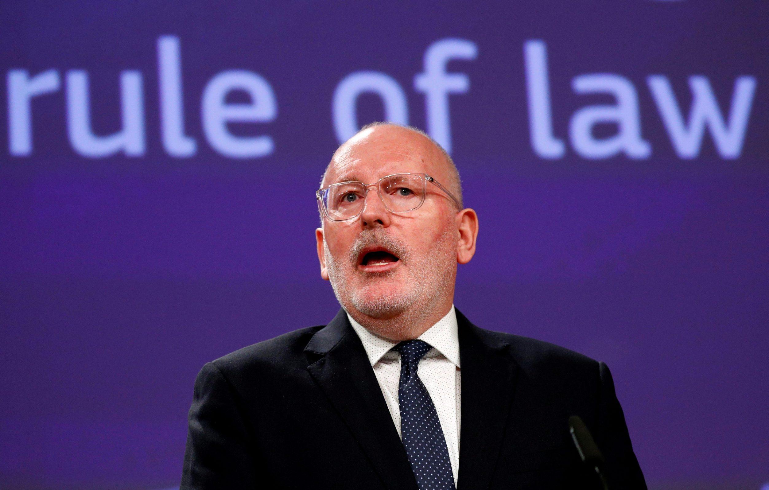 Frans Timmermans je kandidat europske socijalističke grupacije za čelnika Europske komisije
