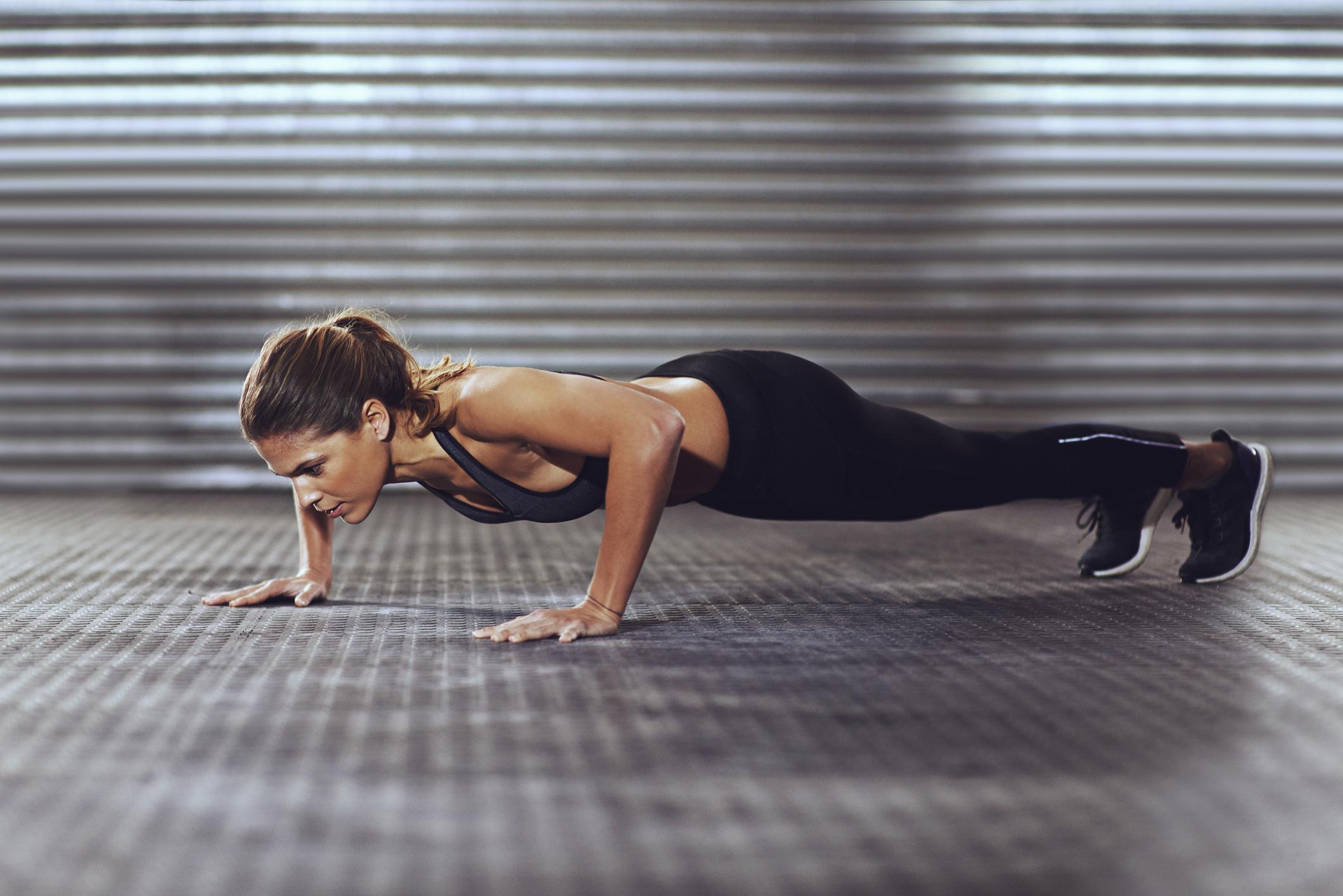 Ako niste znali, običnim sklekovima možete definirati tonus mišića cijeloga tijela