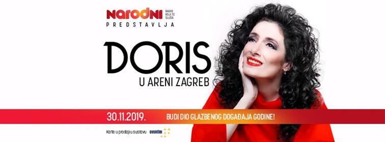 Doris Dragović, koncert u Areni Zagreb