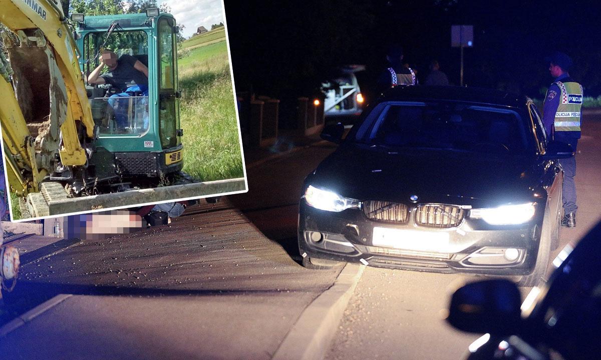 David K. (gore lijevo), mjesto nesreće (glavna fotografija)